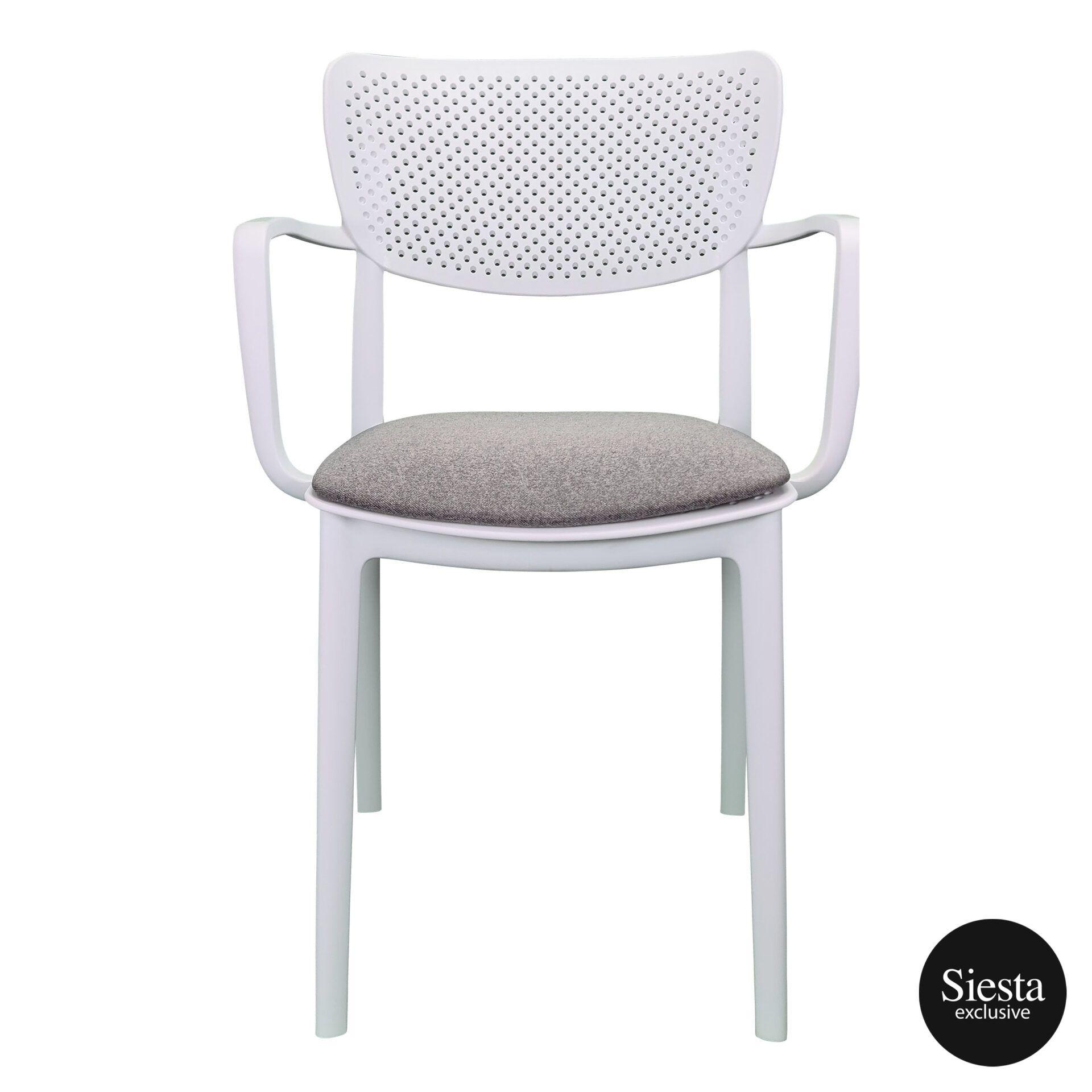 loft armchair white c1