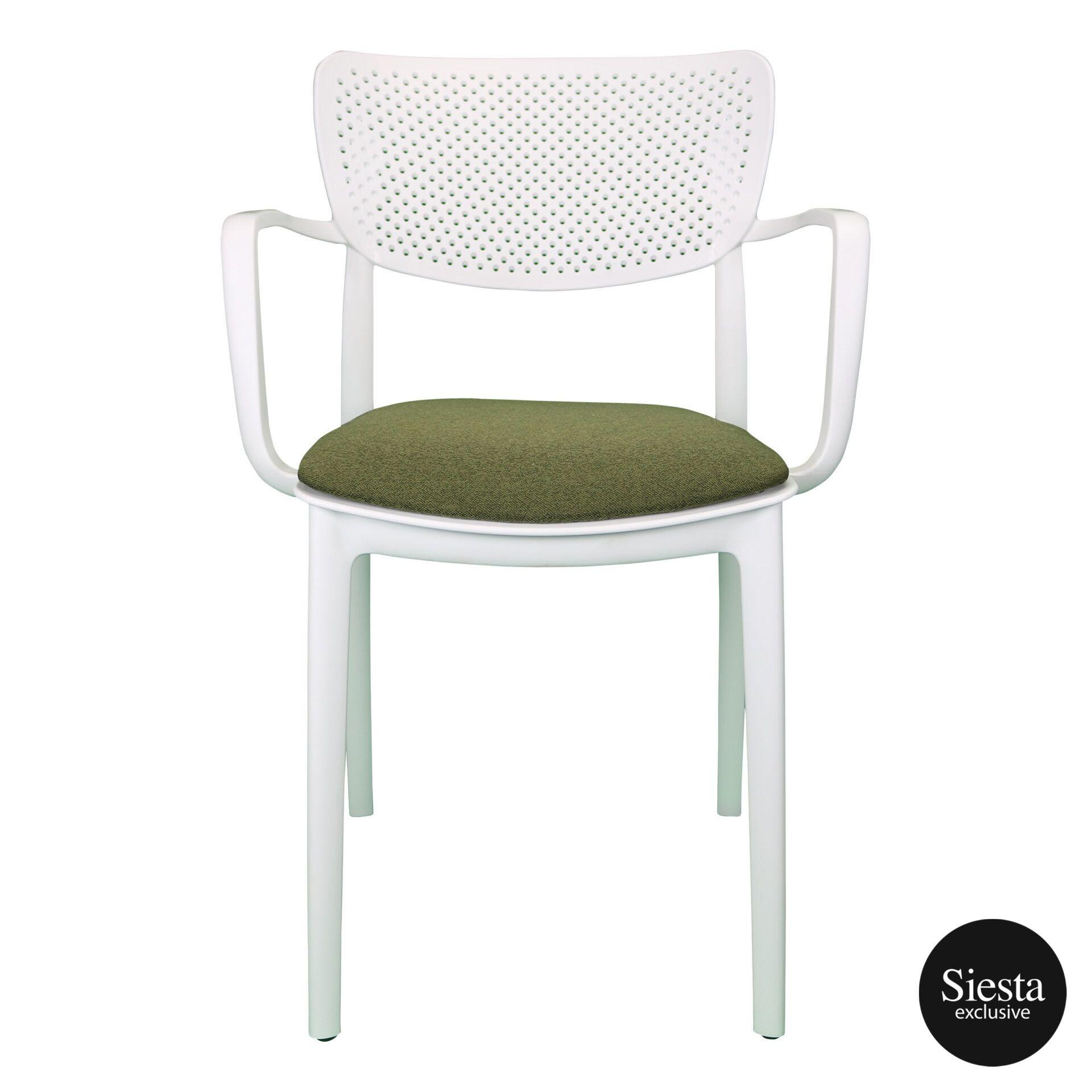 loft armchair white c2