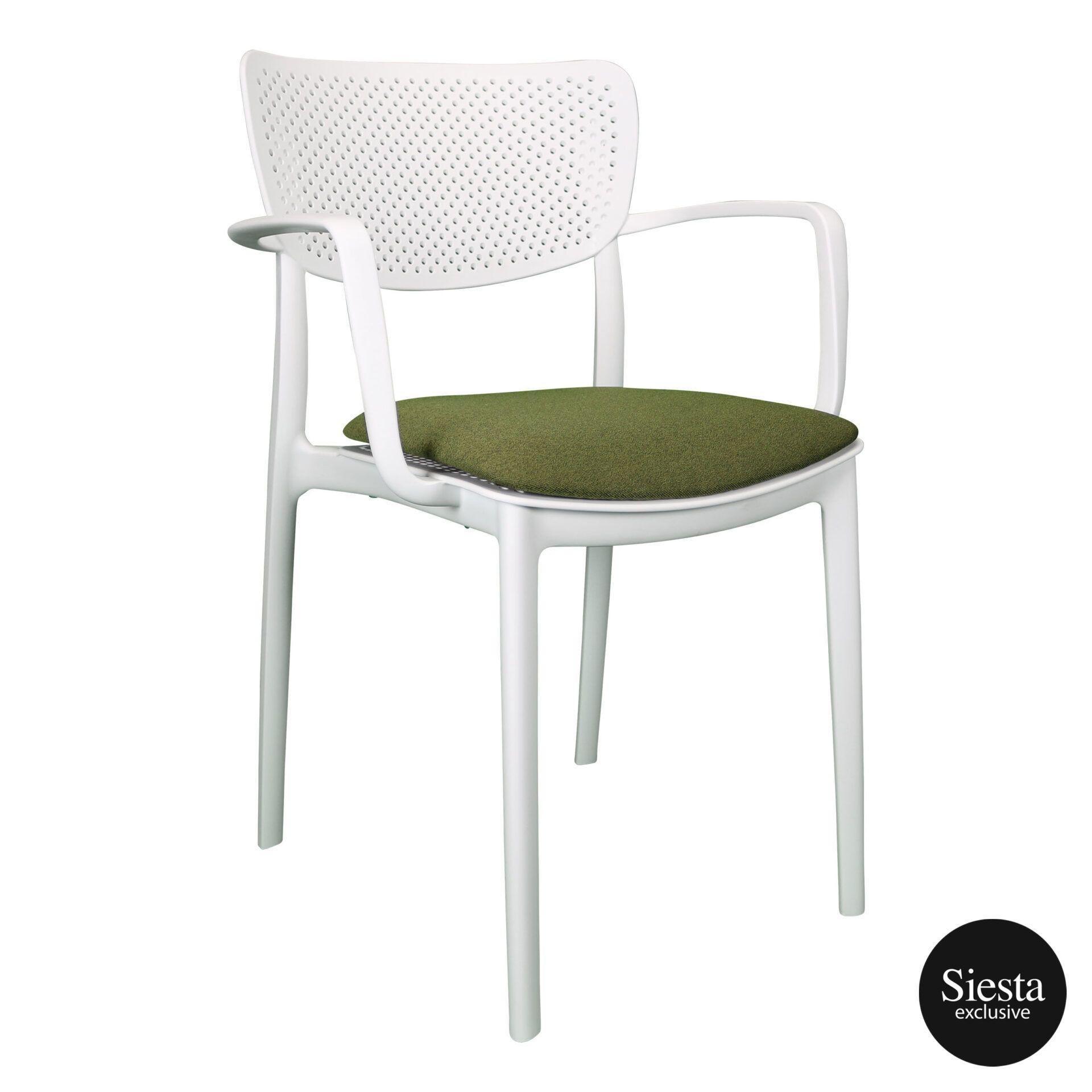 loft armchair white c2a