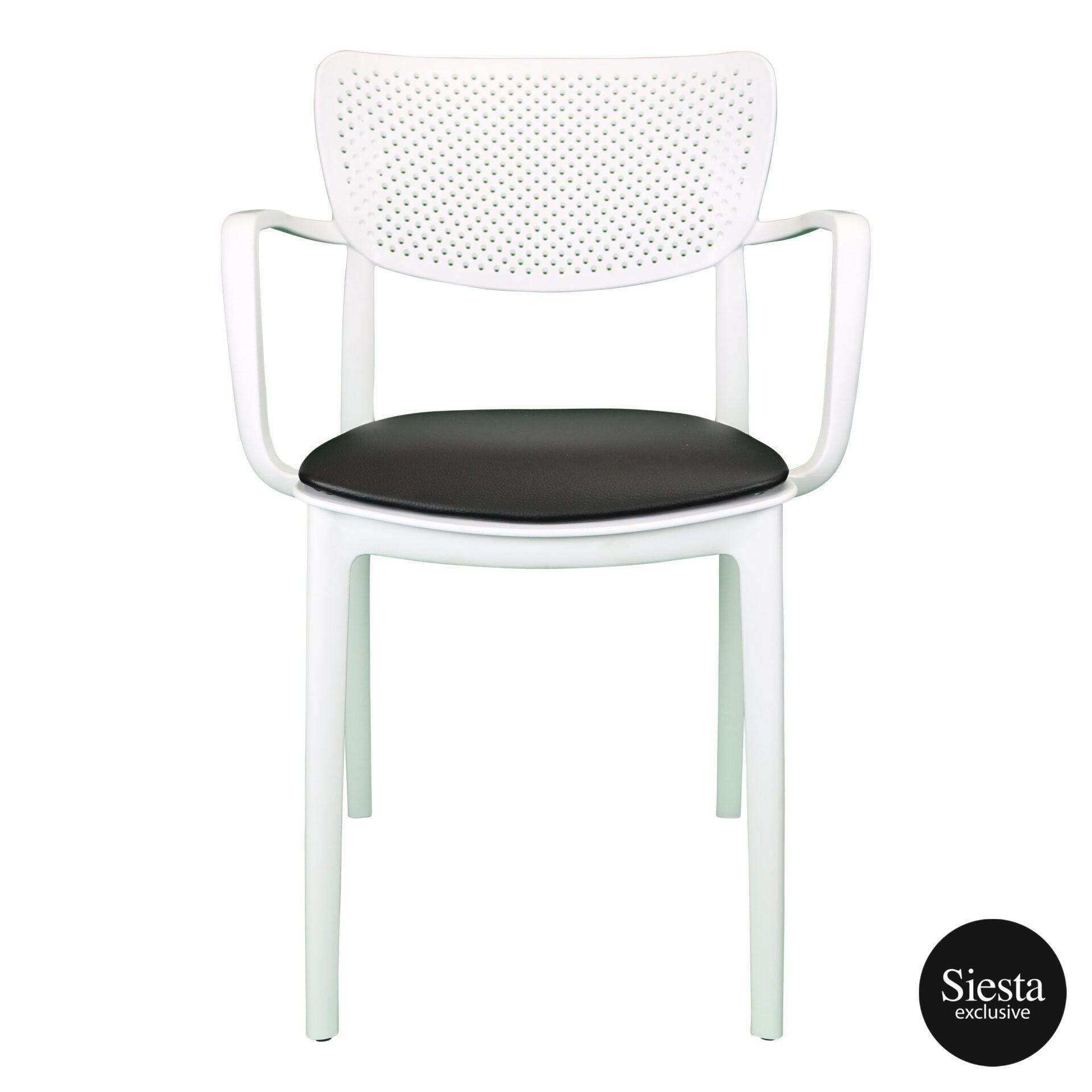 loft armchair white c3