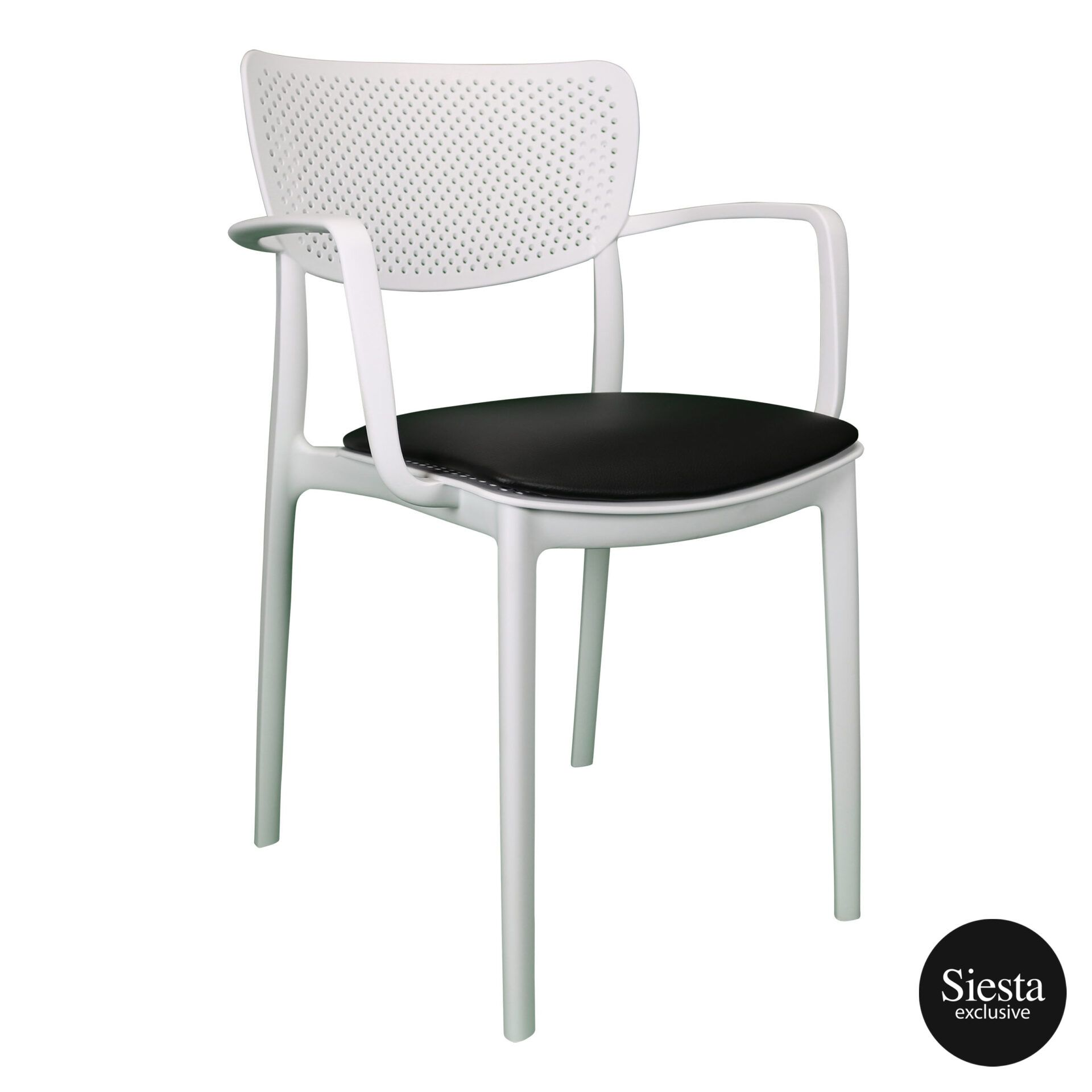 loft armchair white c3a