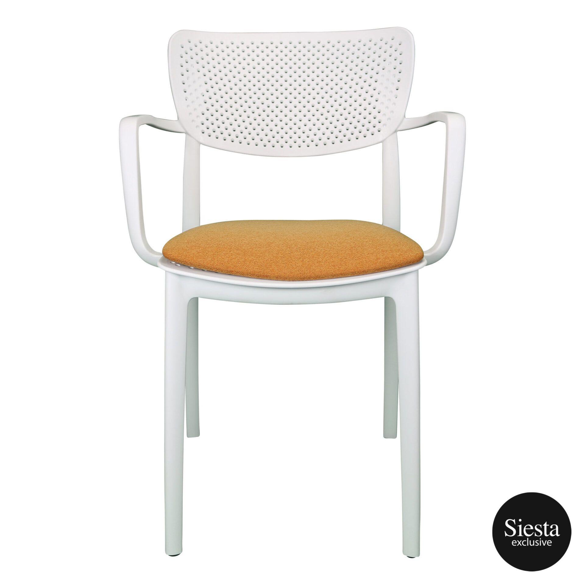 loft armchair white c4