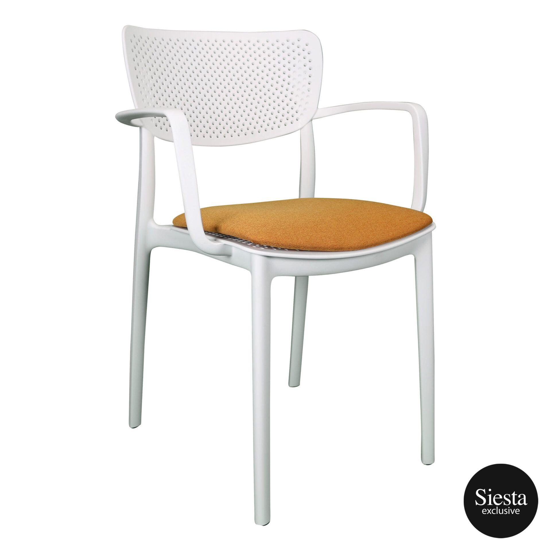 loft armchair white c4a