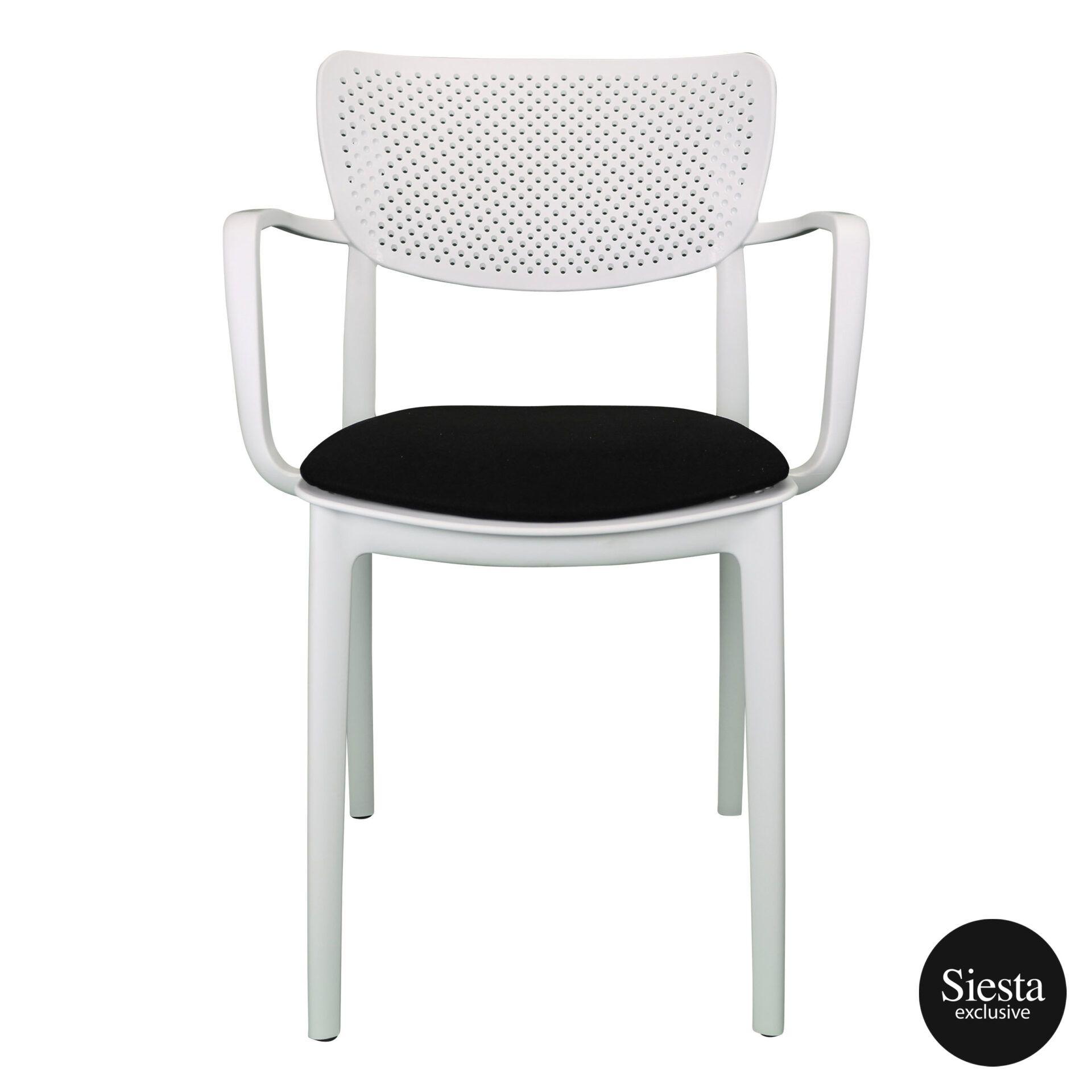 loft armchair white c5