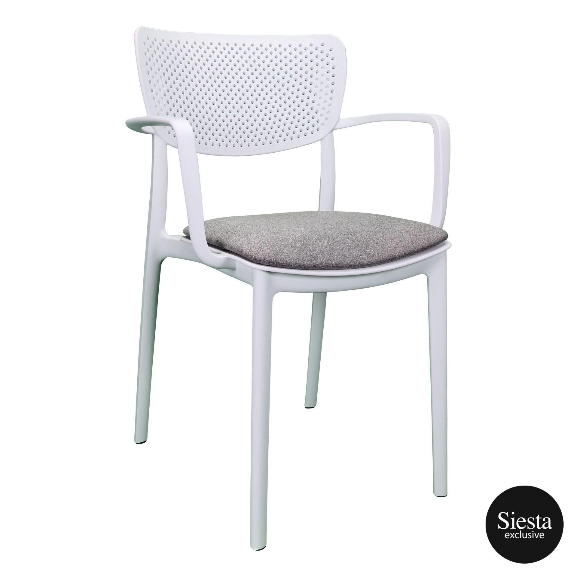 loft armchair white c6