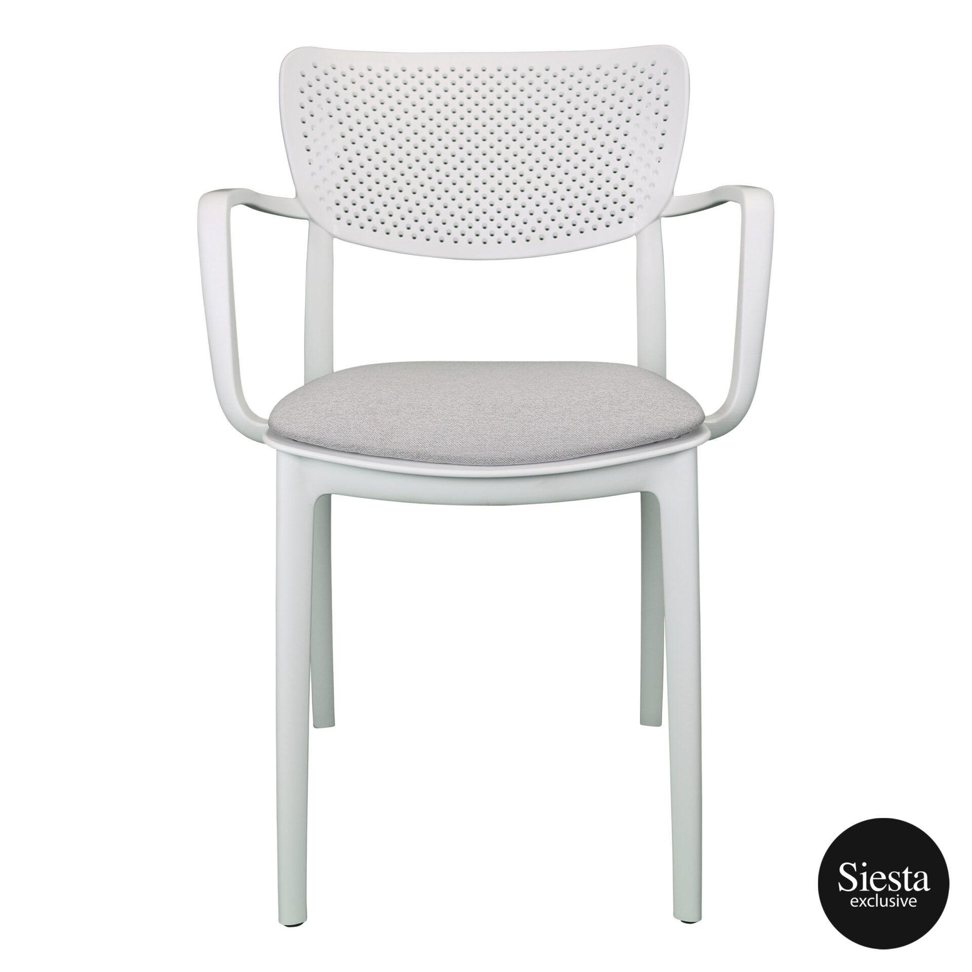 loft armchair white c6a