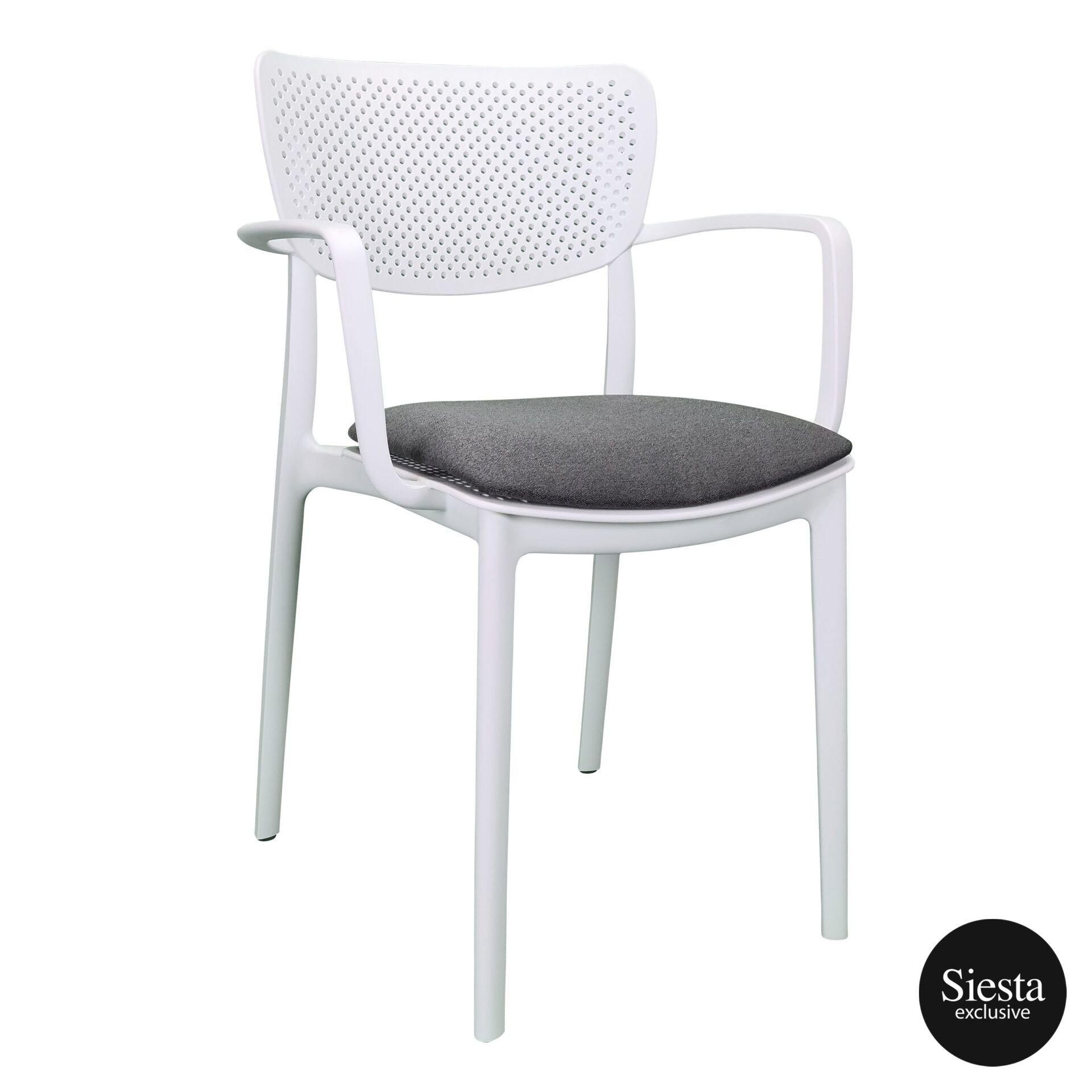 loft armchair white c7a