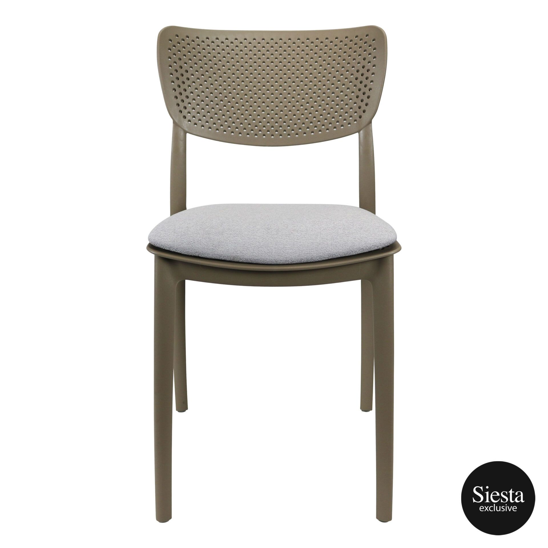 lucy chair taupe c1