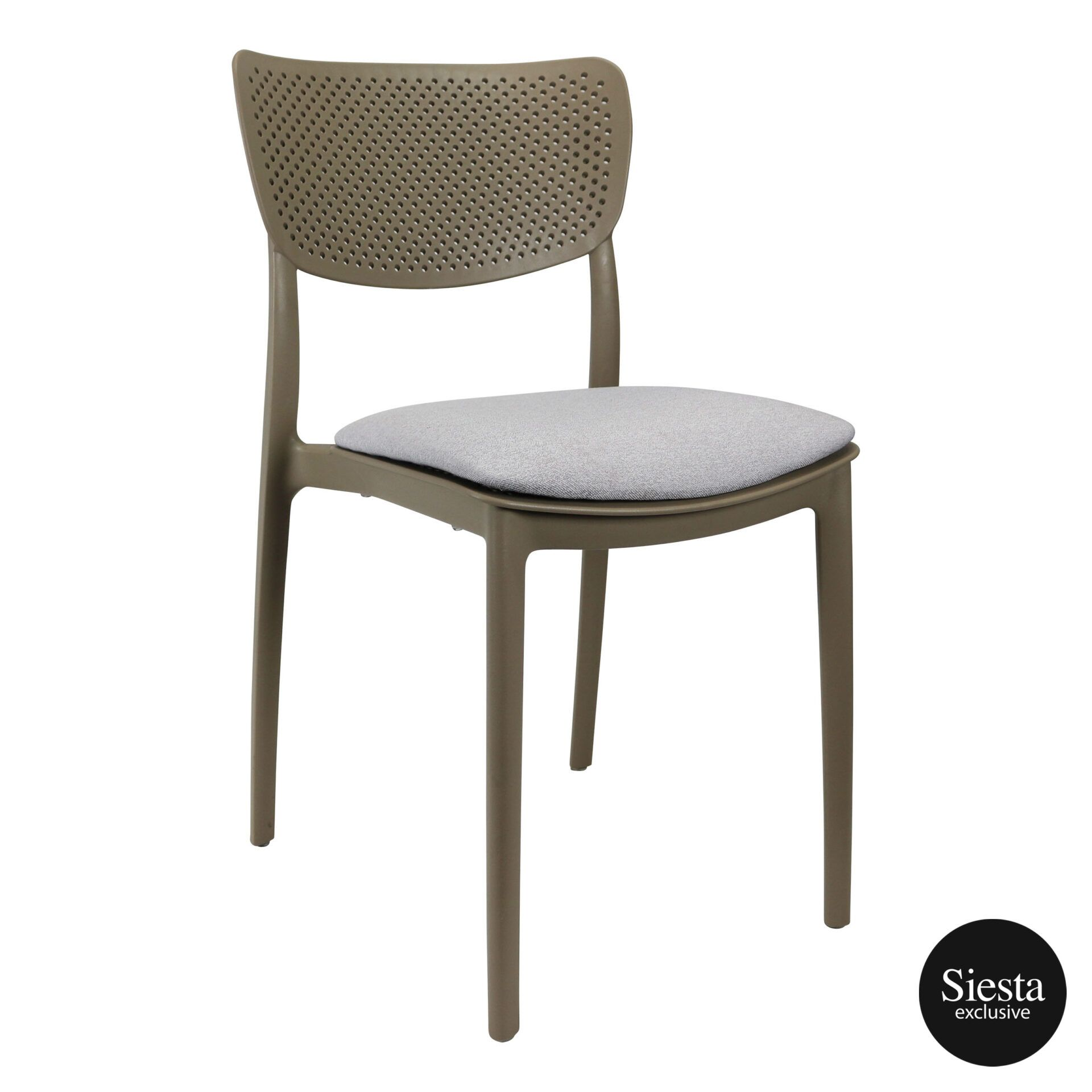 lucy chair taupe c1a