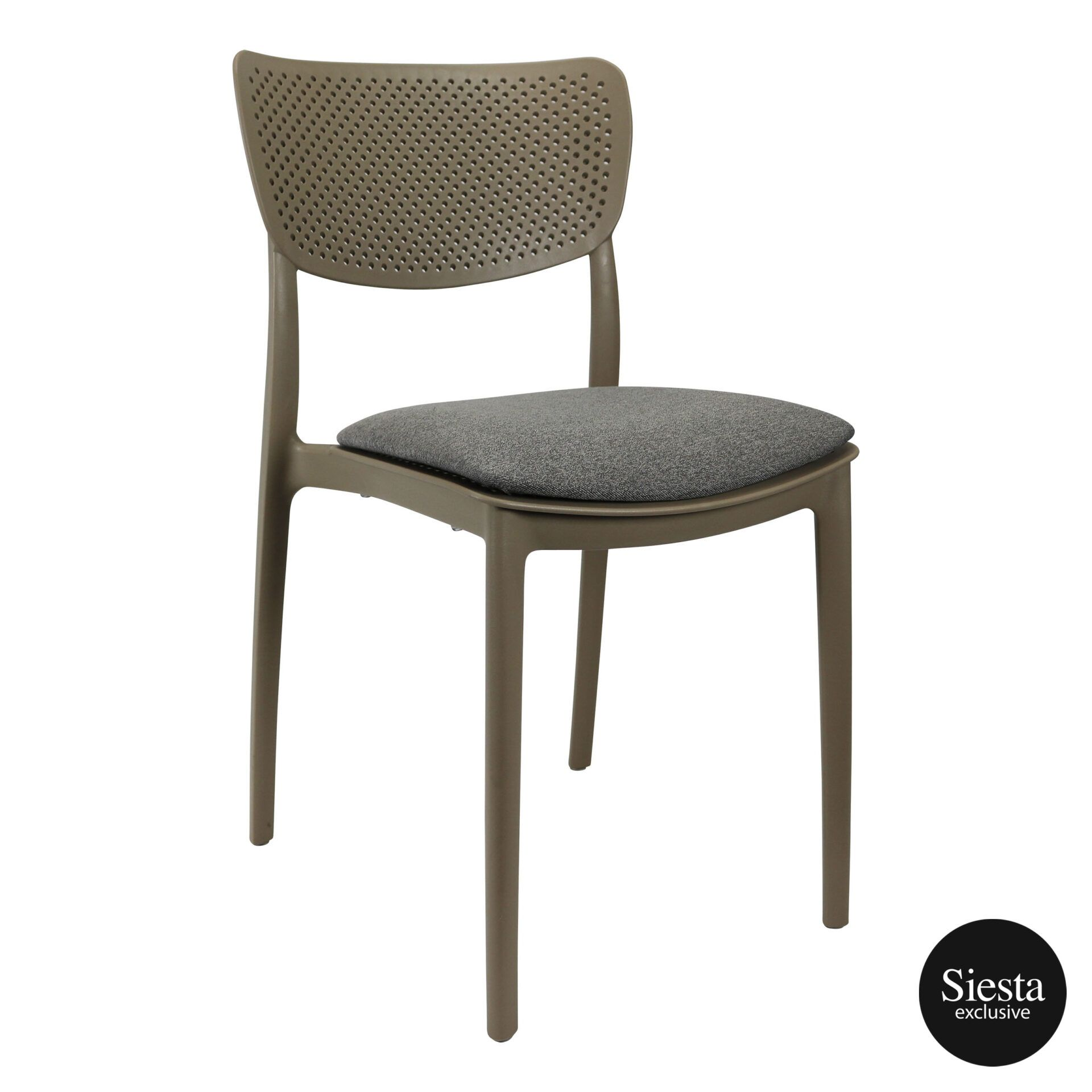 lucy chair taupe c2a