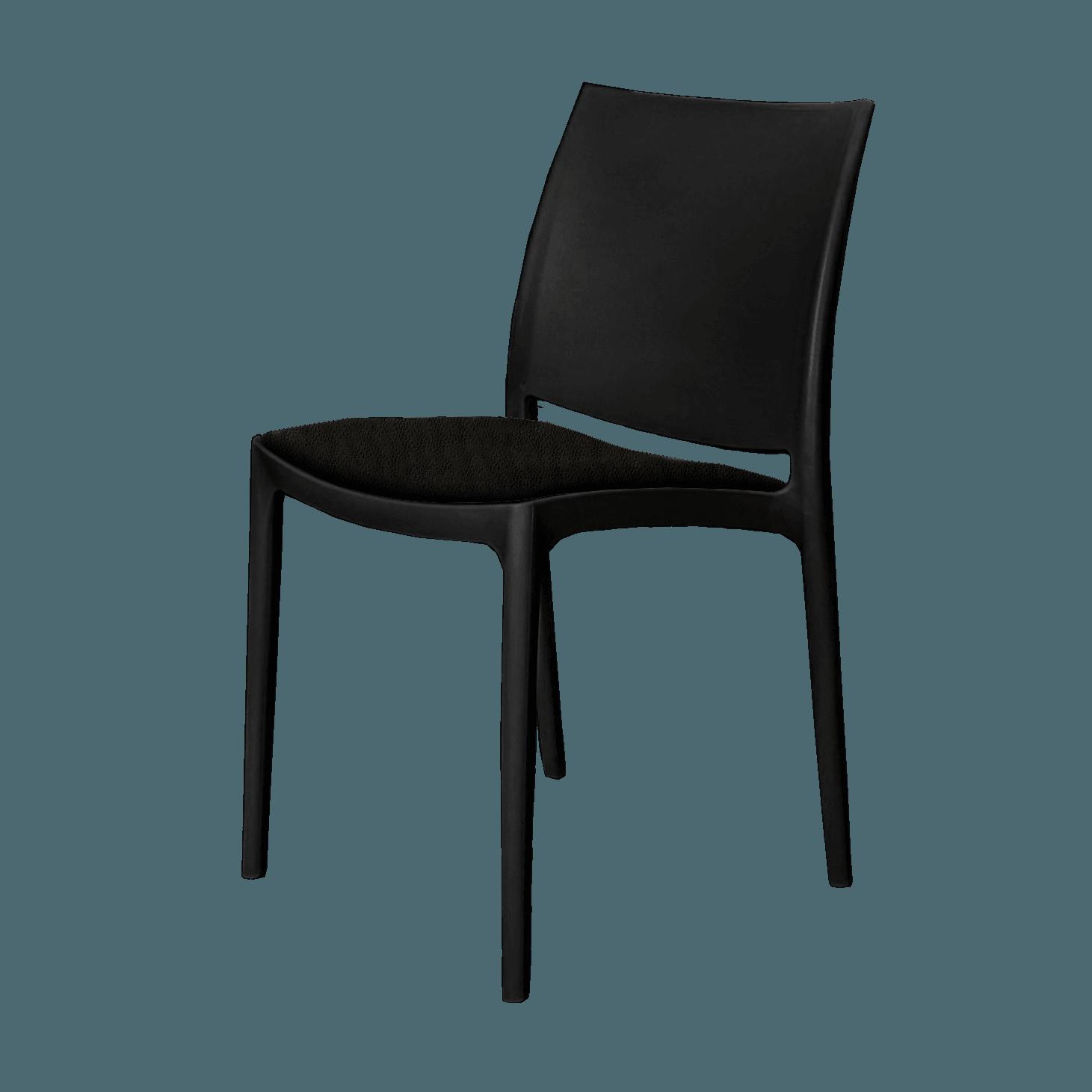 mayachair cushion black 1