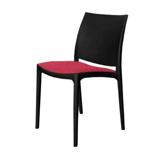 mayachair cushion redpink