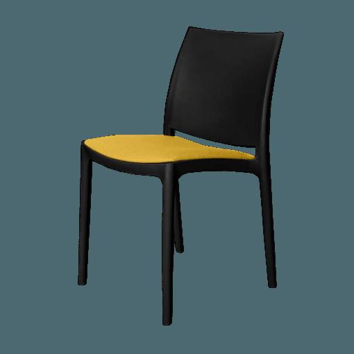 mayachair cushion yellow