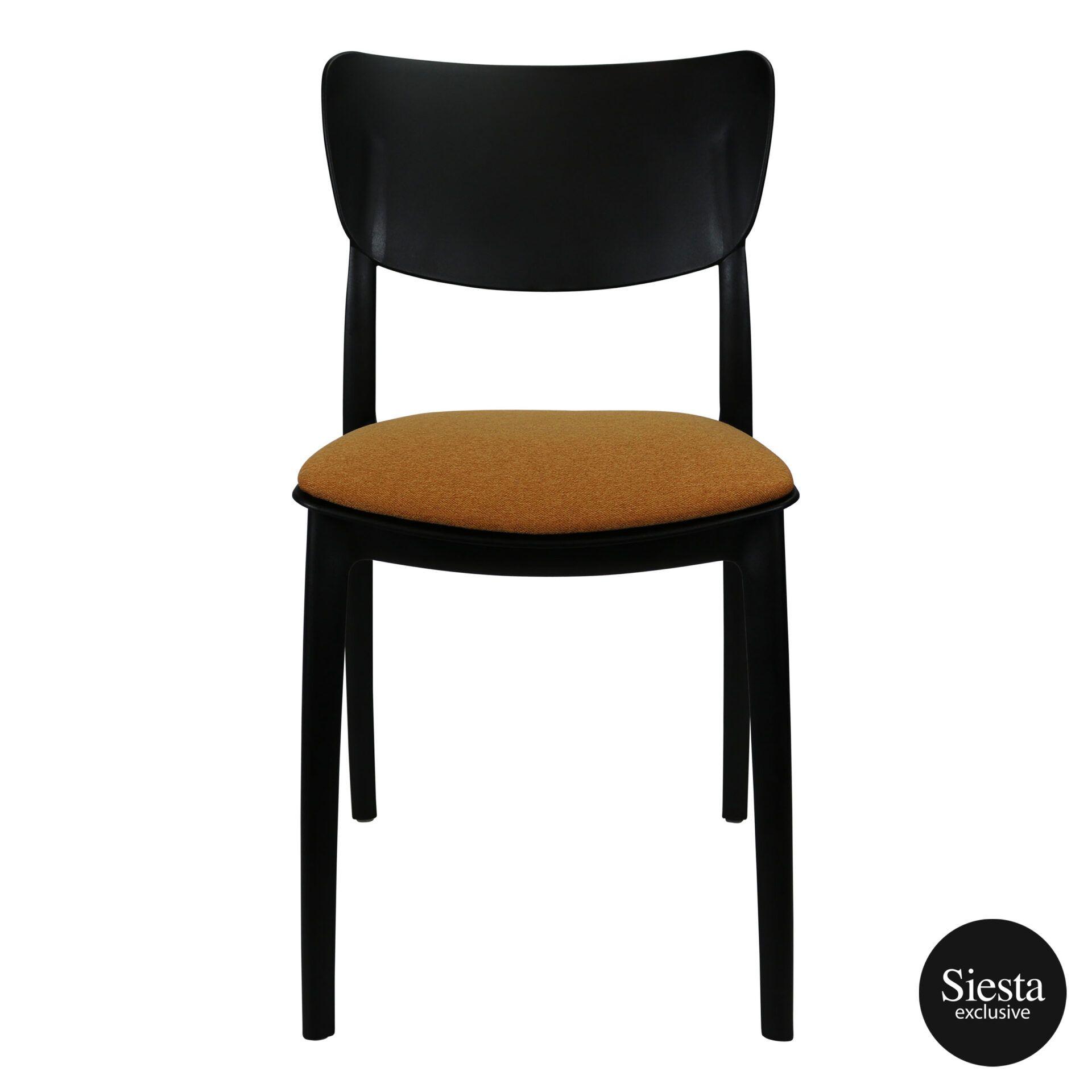 monna chair black c1