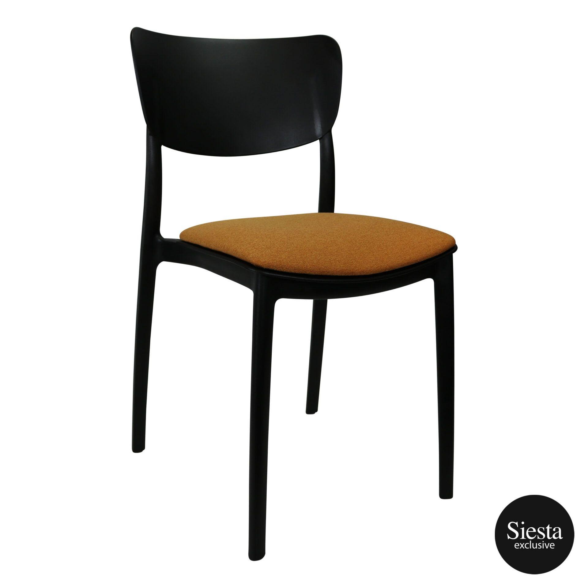 monna chair black c1a
