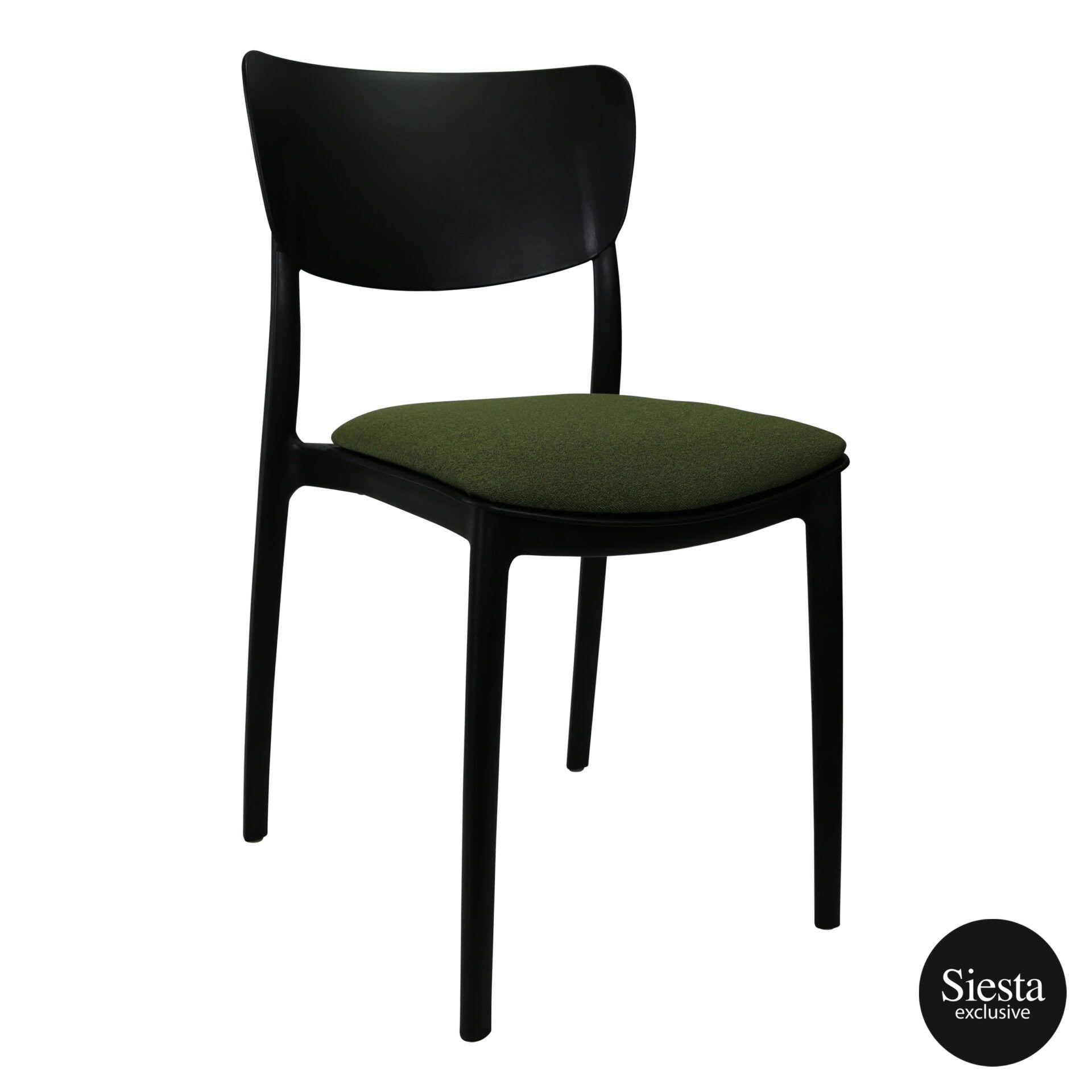 monna chair black c3a