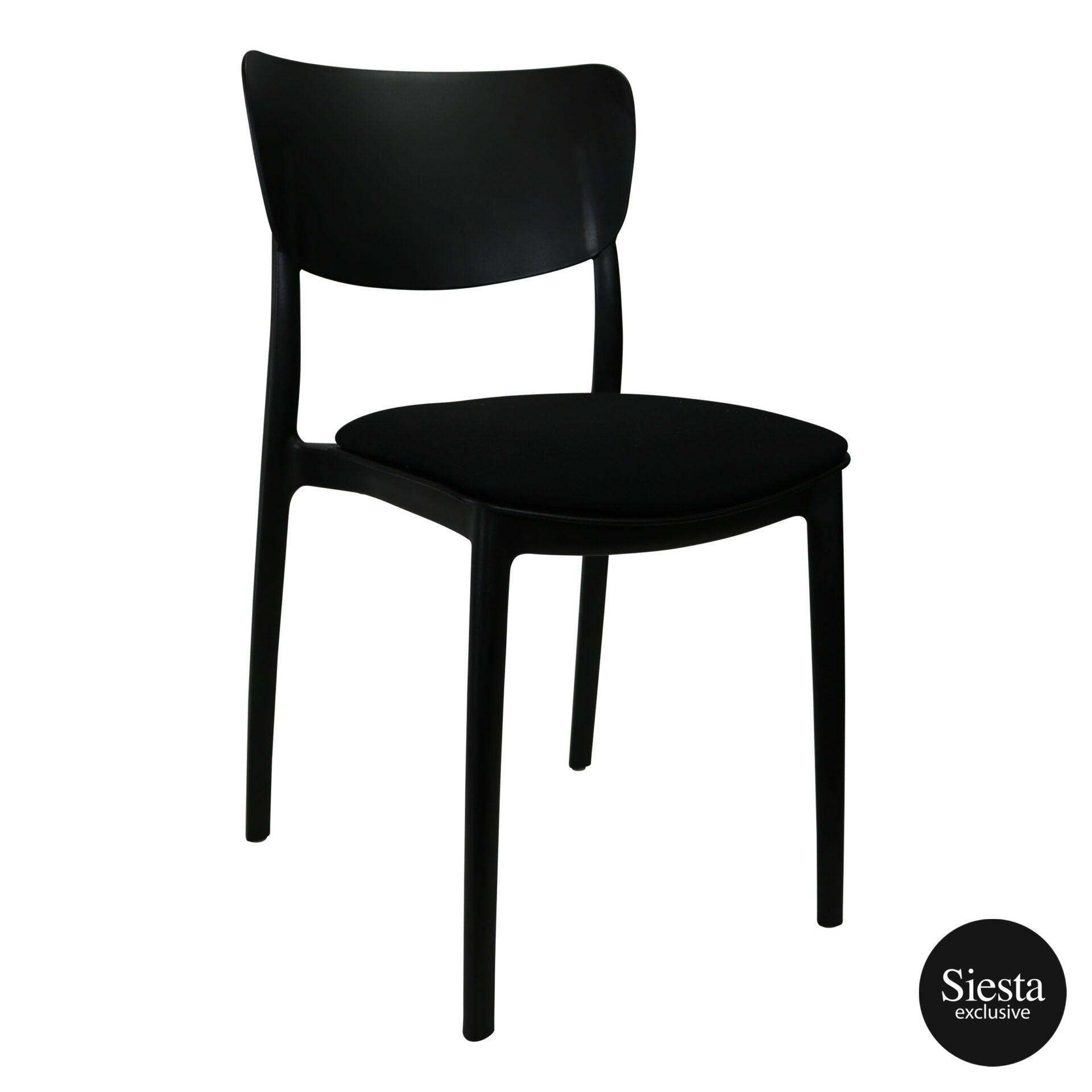 monna chair black c4a