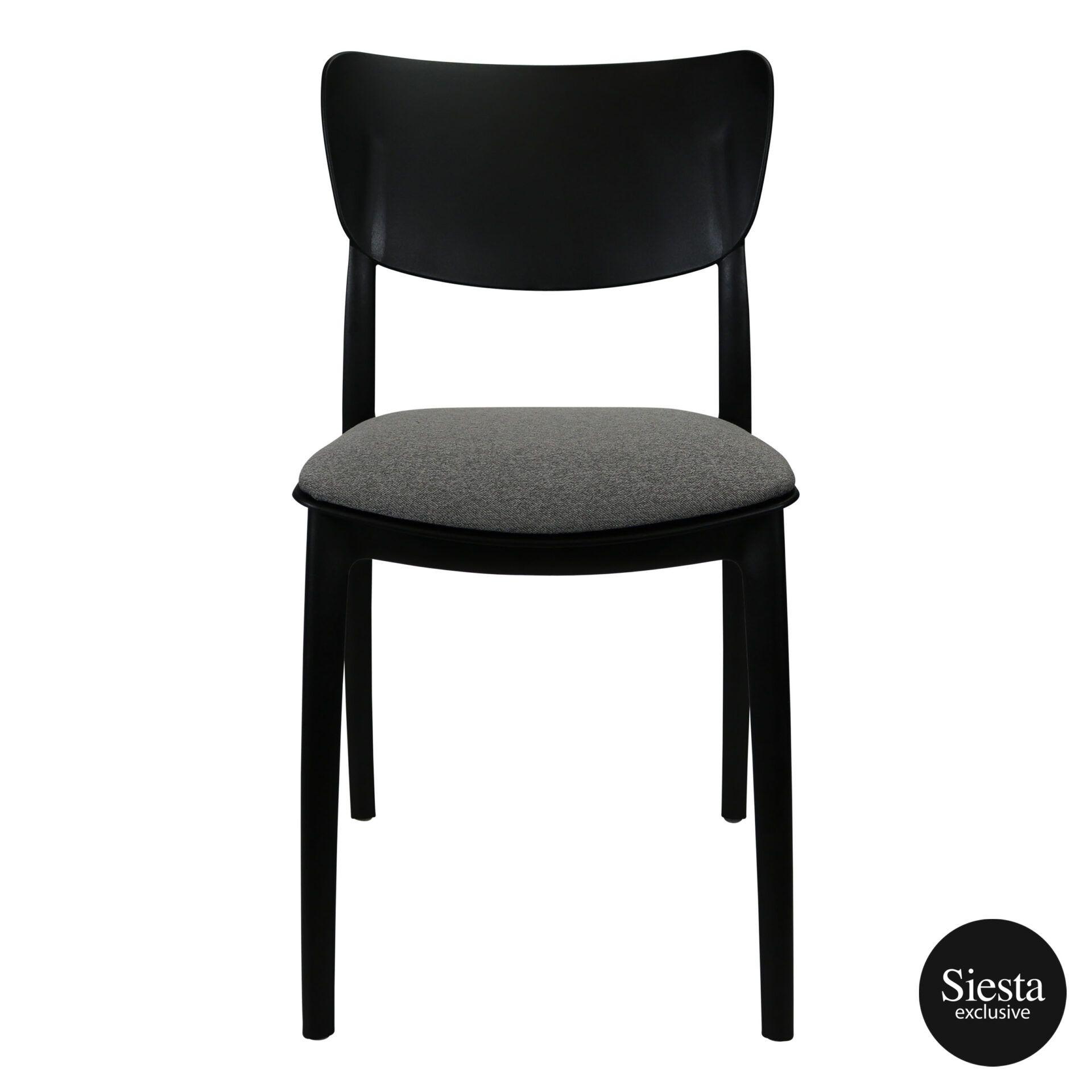 monna chair black c5