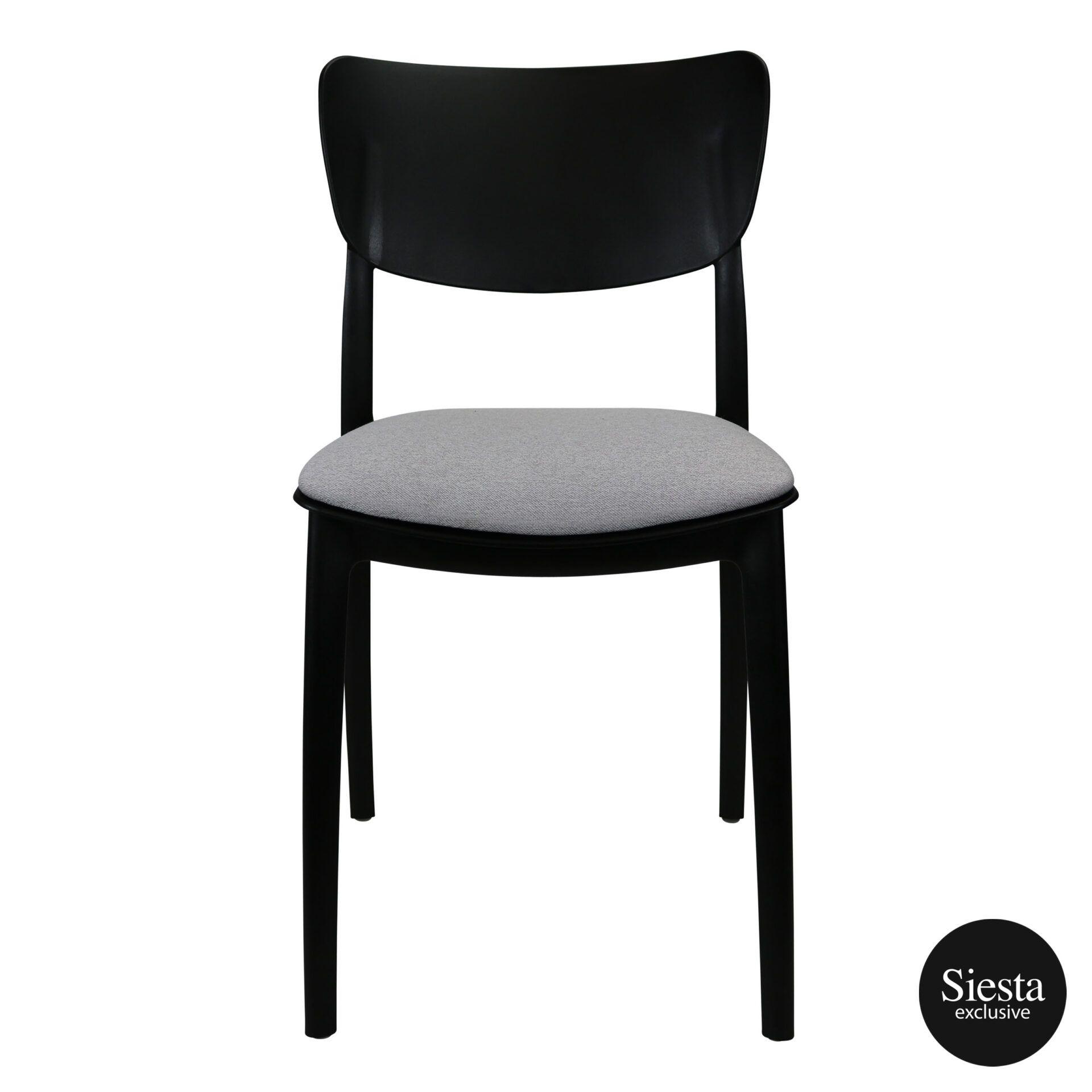 monna chair black c6