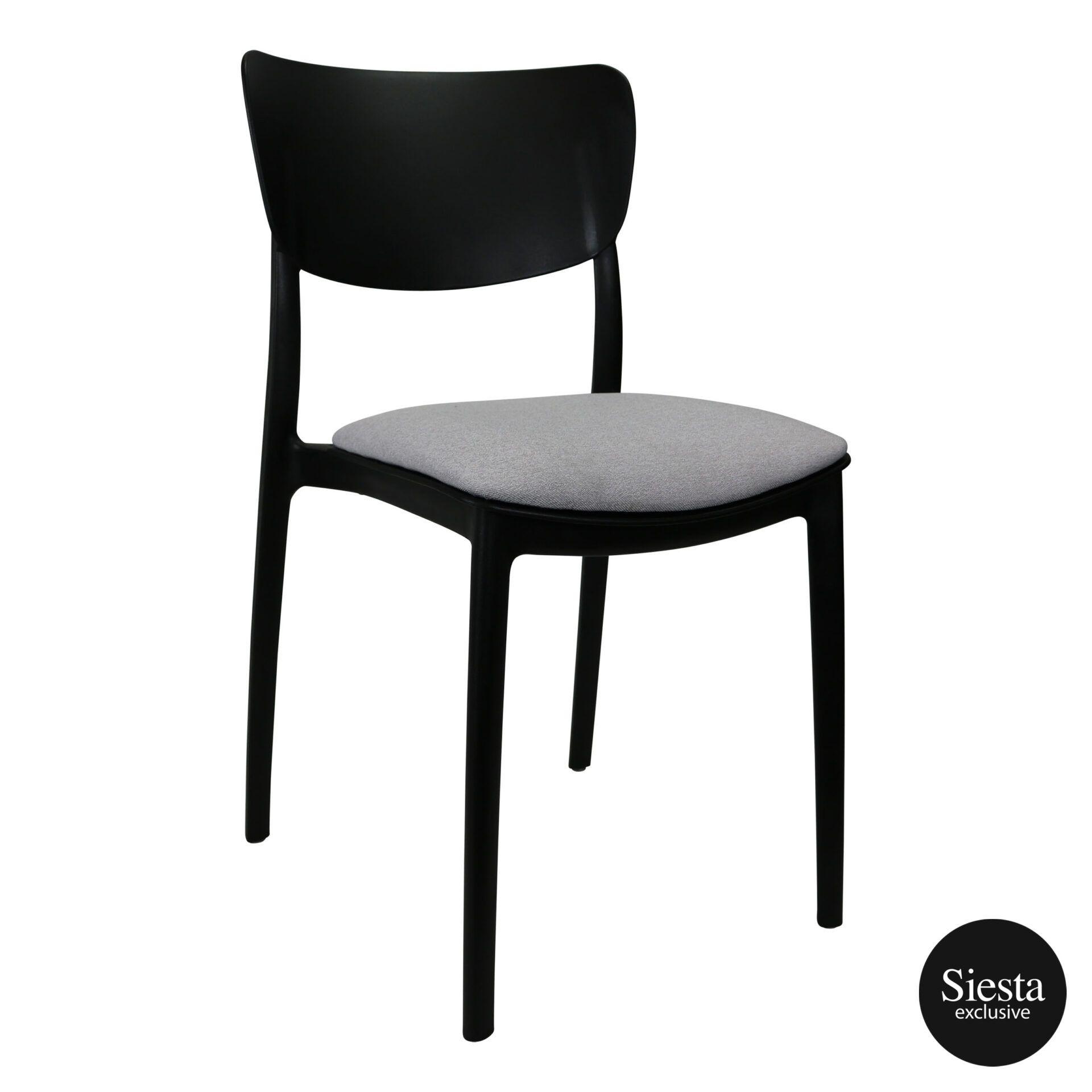 monna chair black c6a