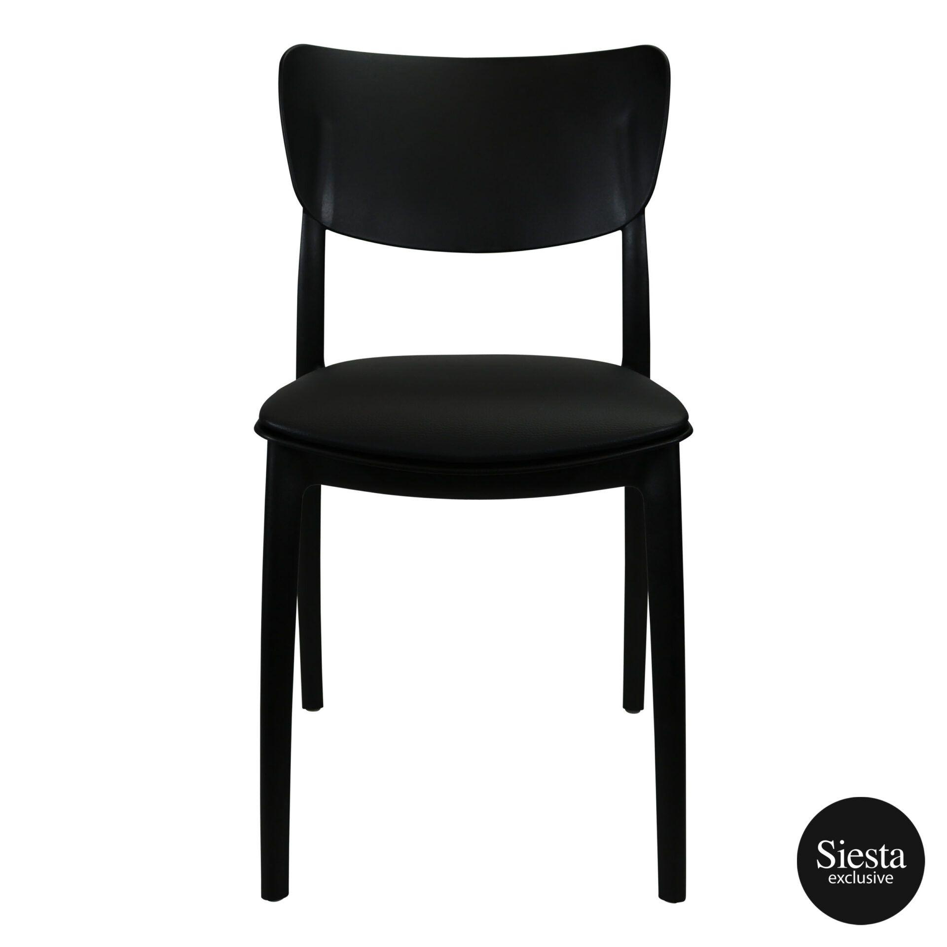 monna chair black c7