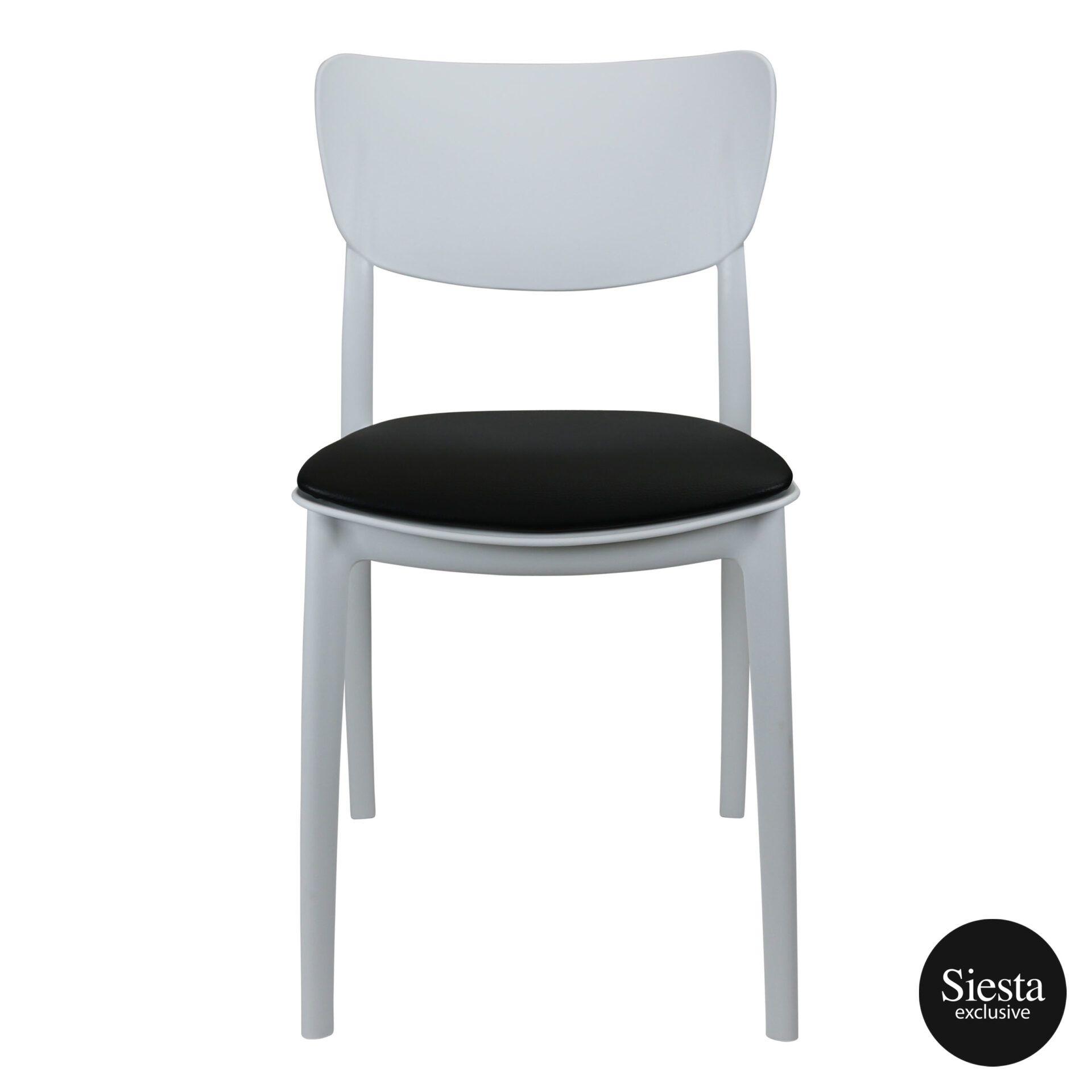 monna chair white c1