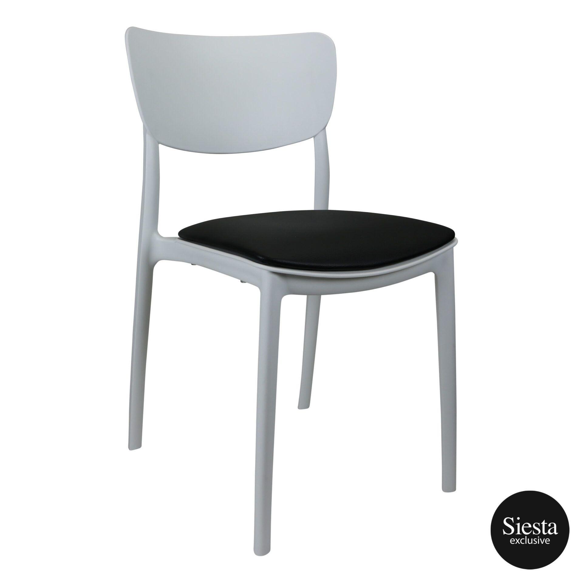 monna chair white c3a