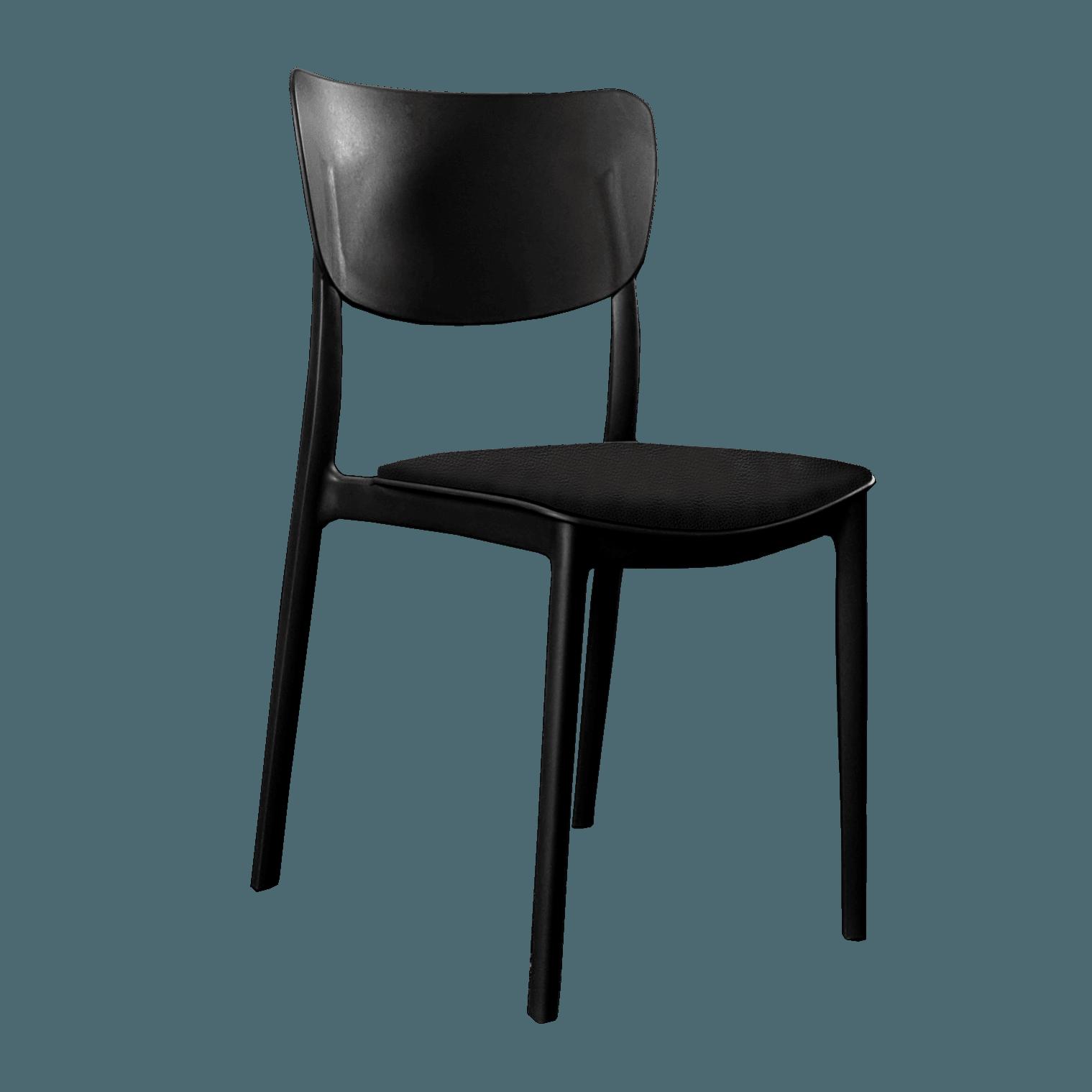 monnachair cushions blackvinyl