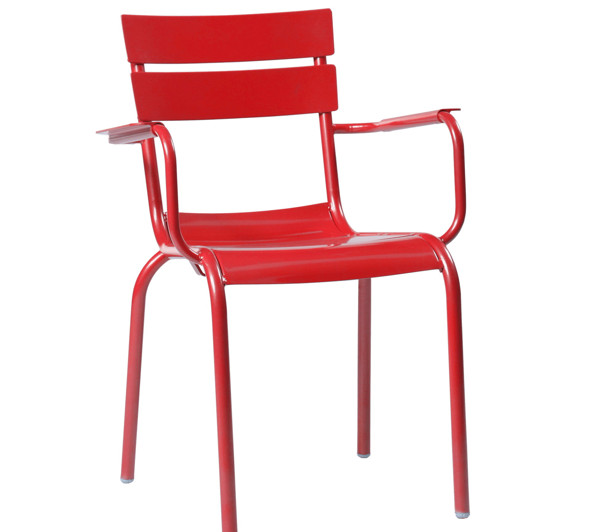 porto armchair red