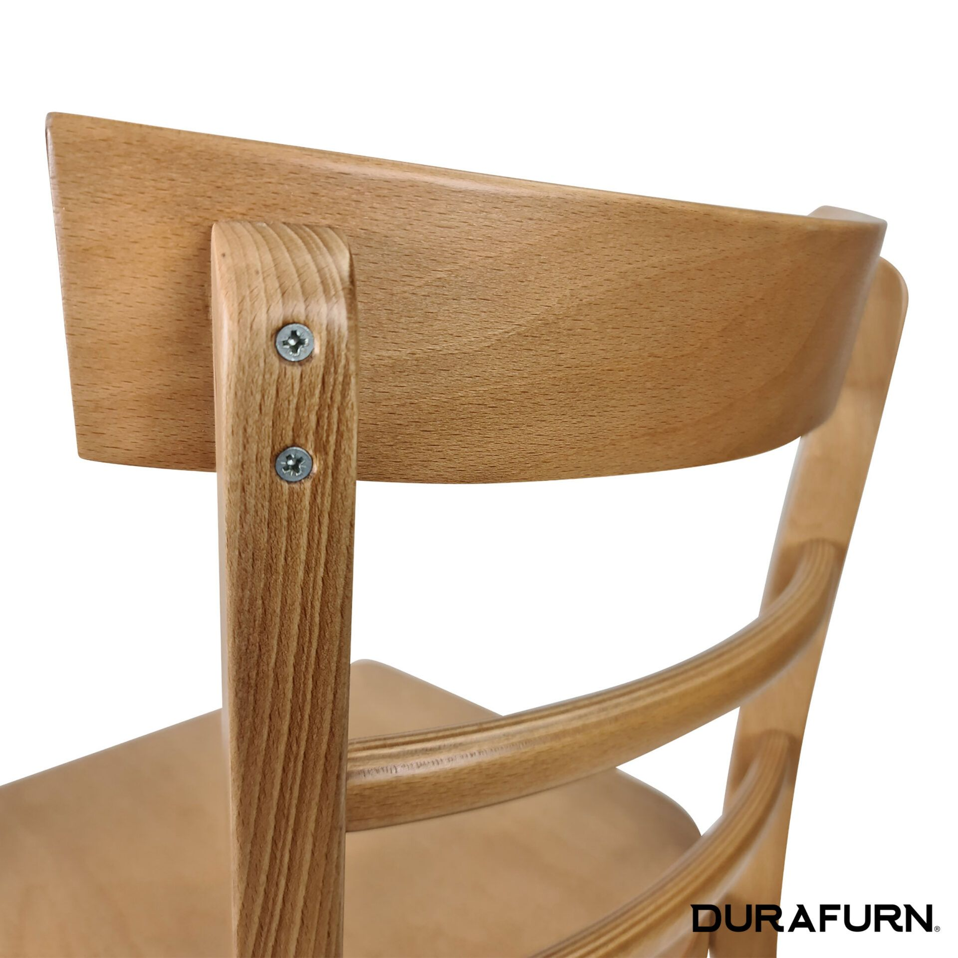 vienna chair natural back detail
