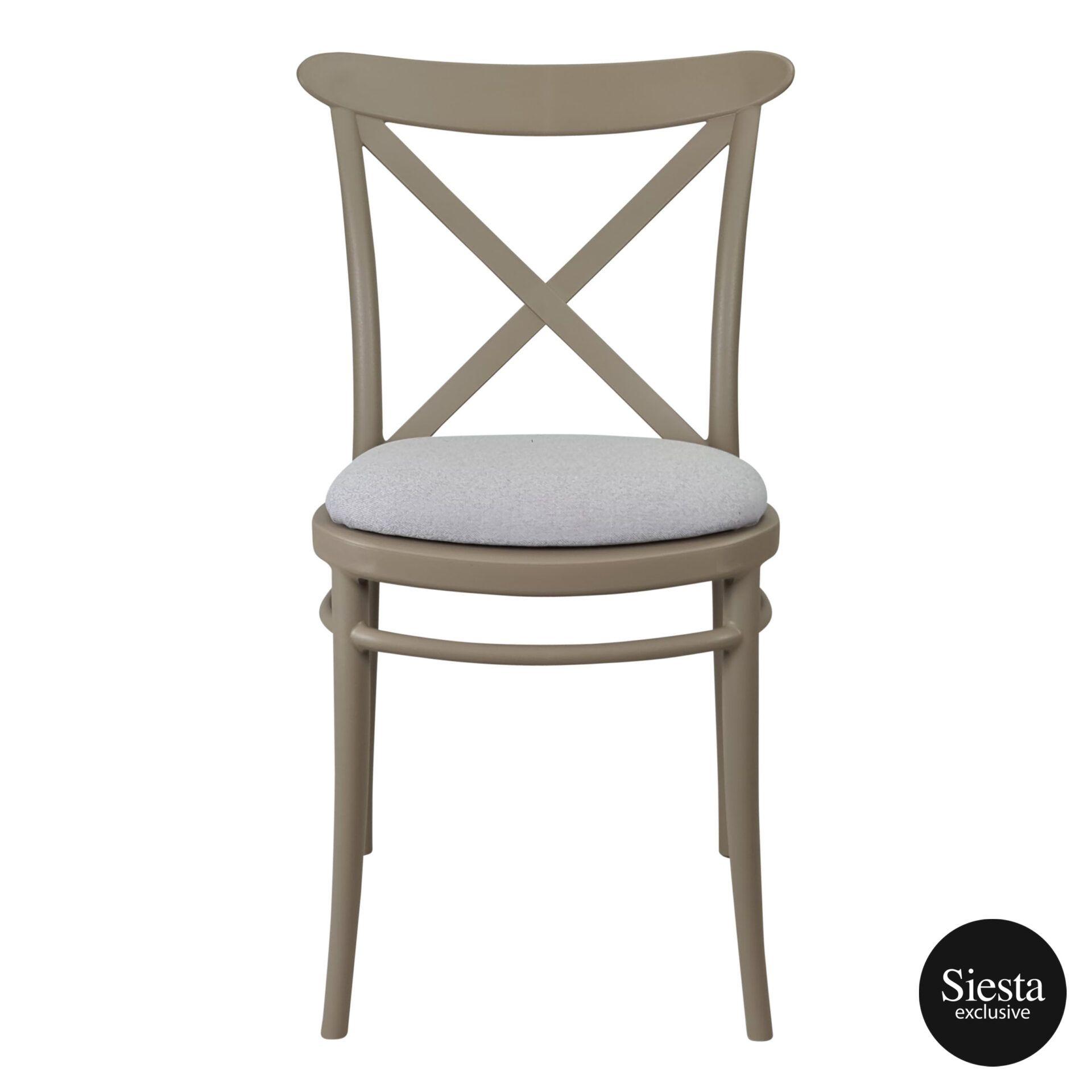 cross chair taupe c6