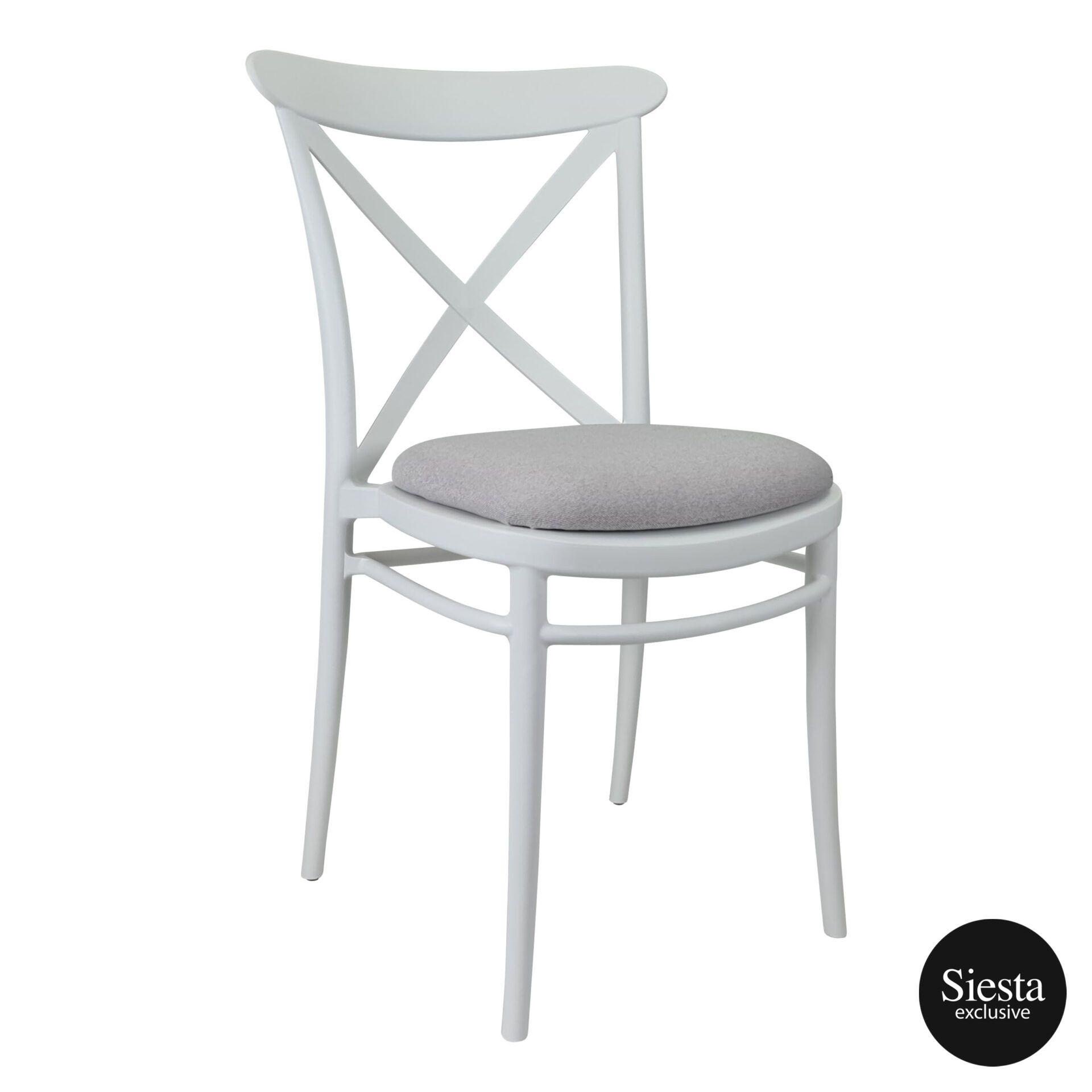 cross chair white c6a