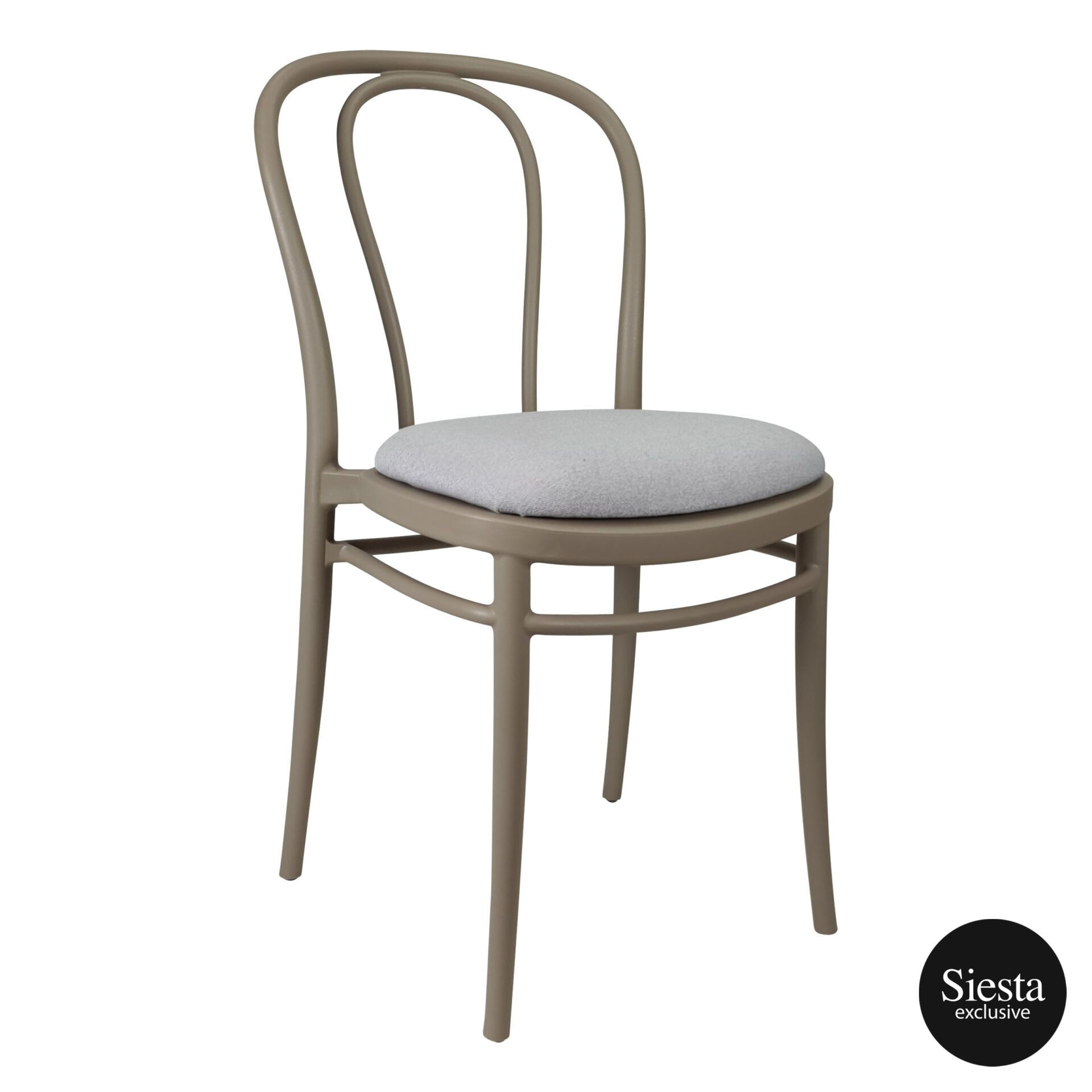 victor chair taupe c4a
