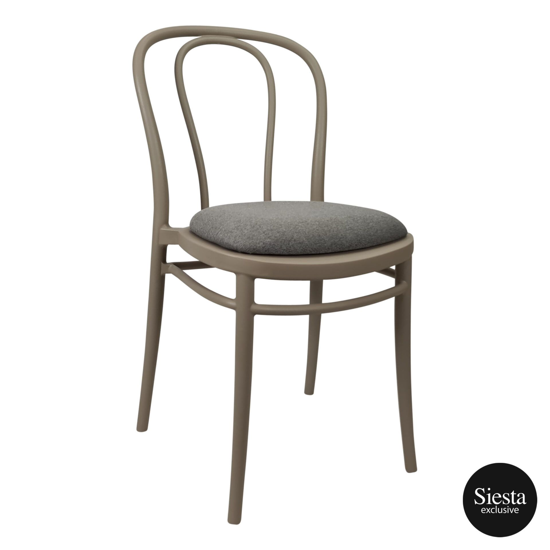 victor chair taupe c6a