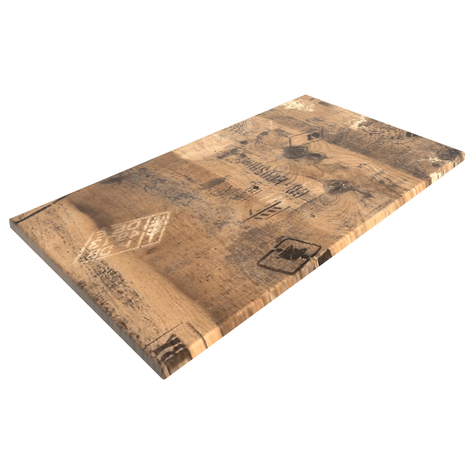 sm france rectangle table top exworks