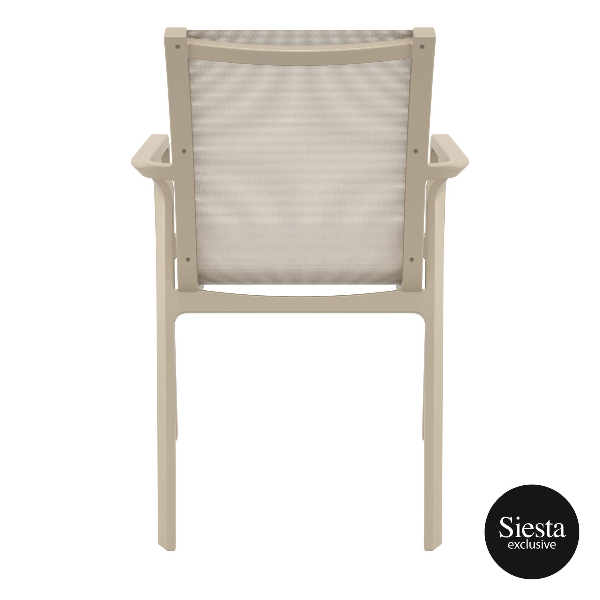 outdoor seating pacific armchair taupe taupe back 2