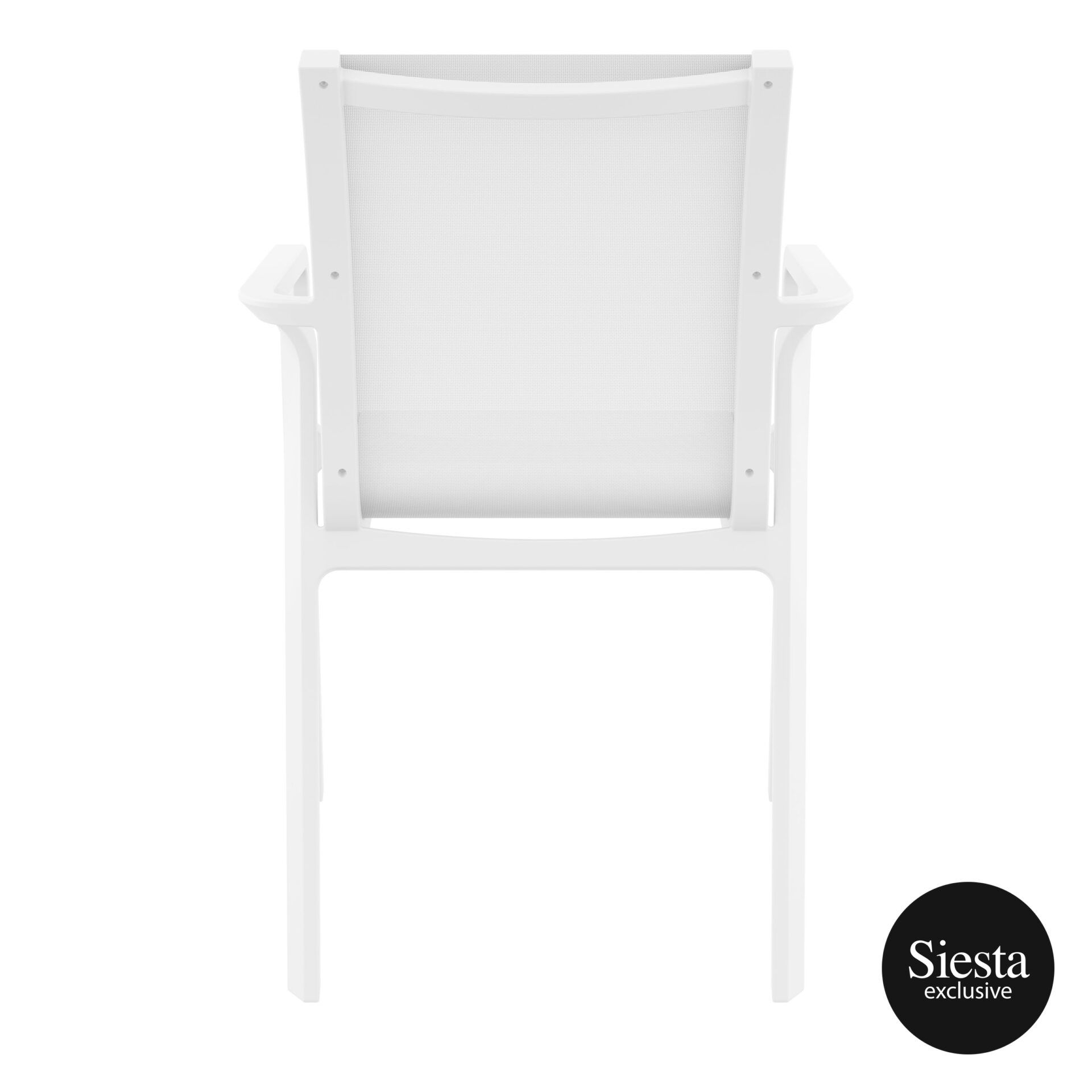outdoor seating pacific armchair white white back 2
