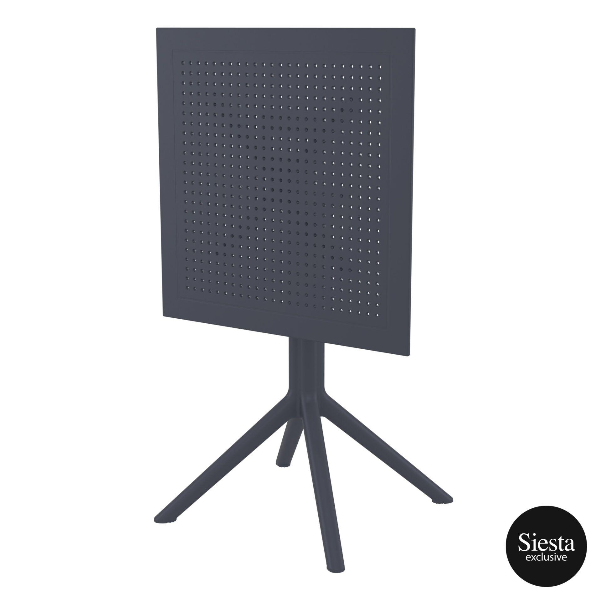 polypropylene outdoor sky folding table 60 darkgrey k front side 1