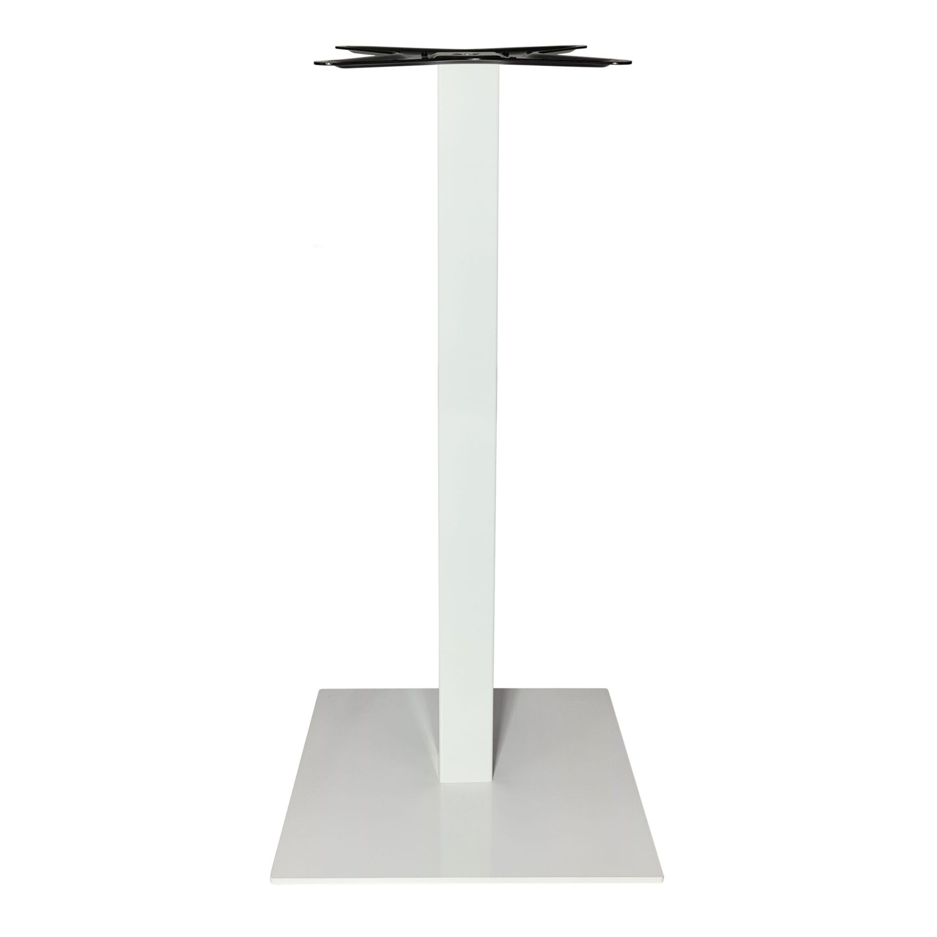 calais bar table base white