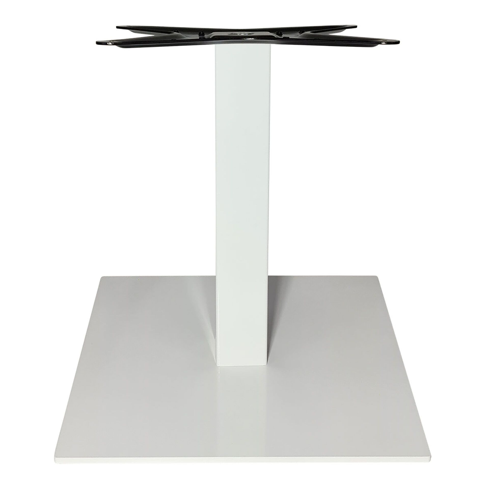 calais coffee table base white