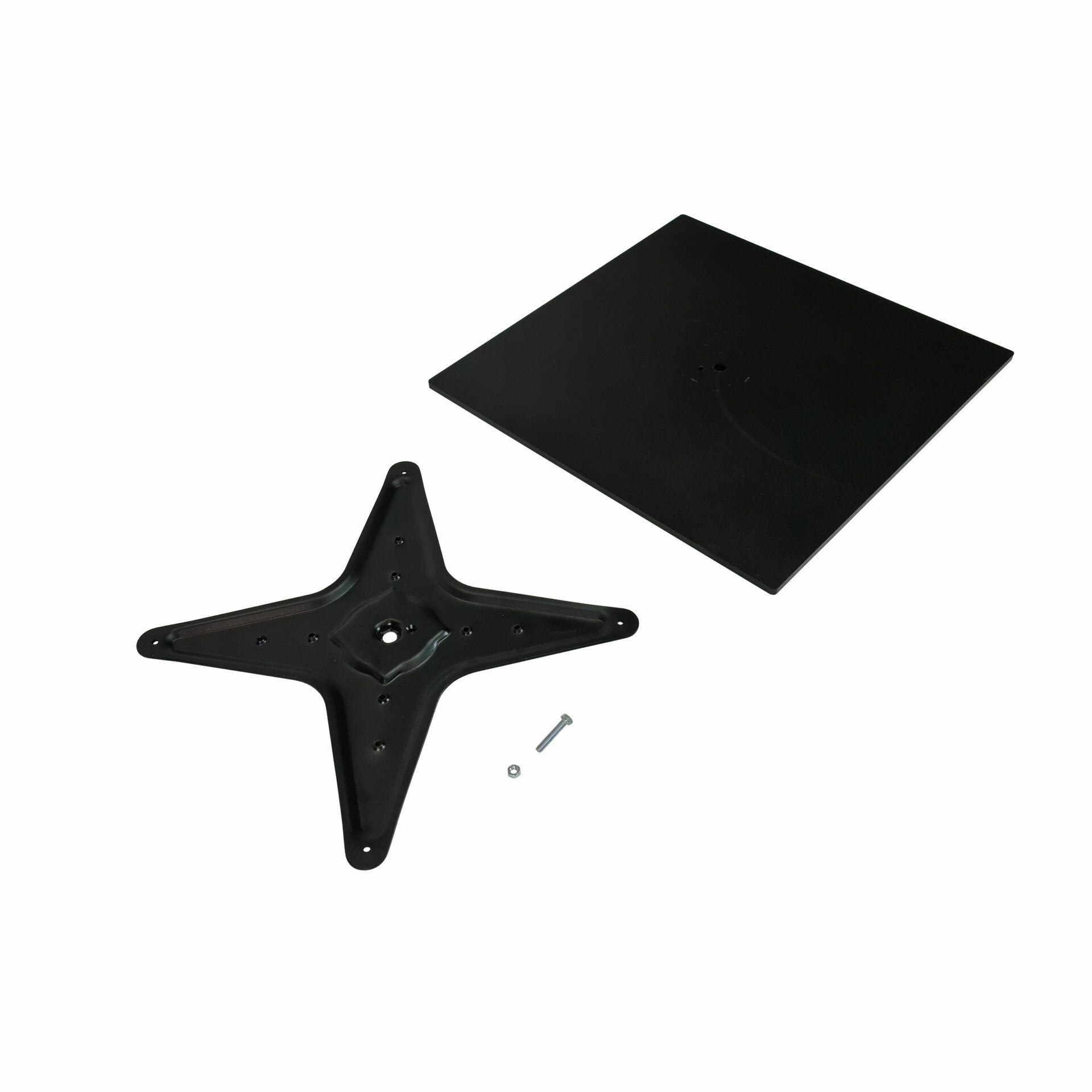 calais table base black.parts