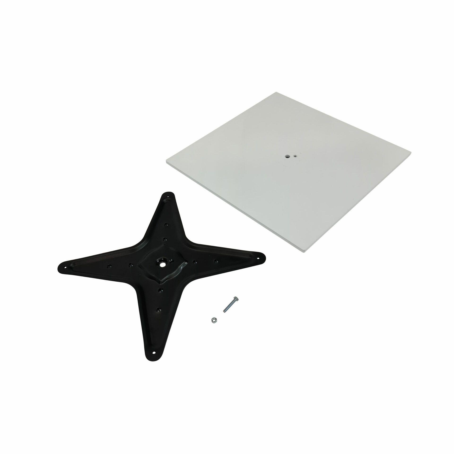 calais table base white.parts