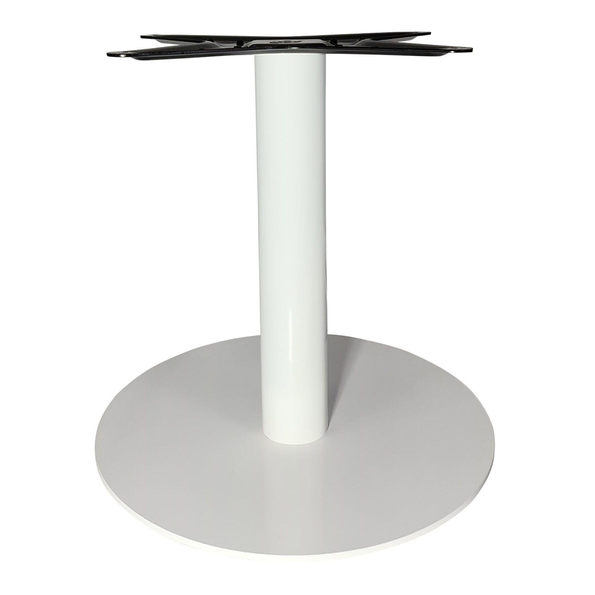 lyon coffee table base white