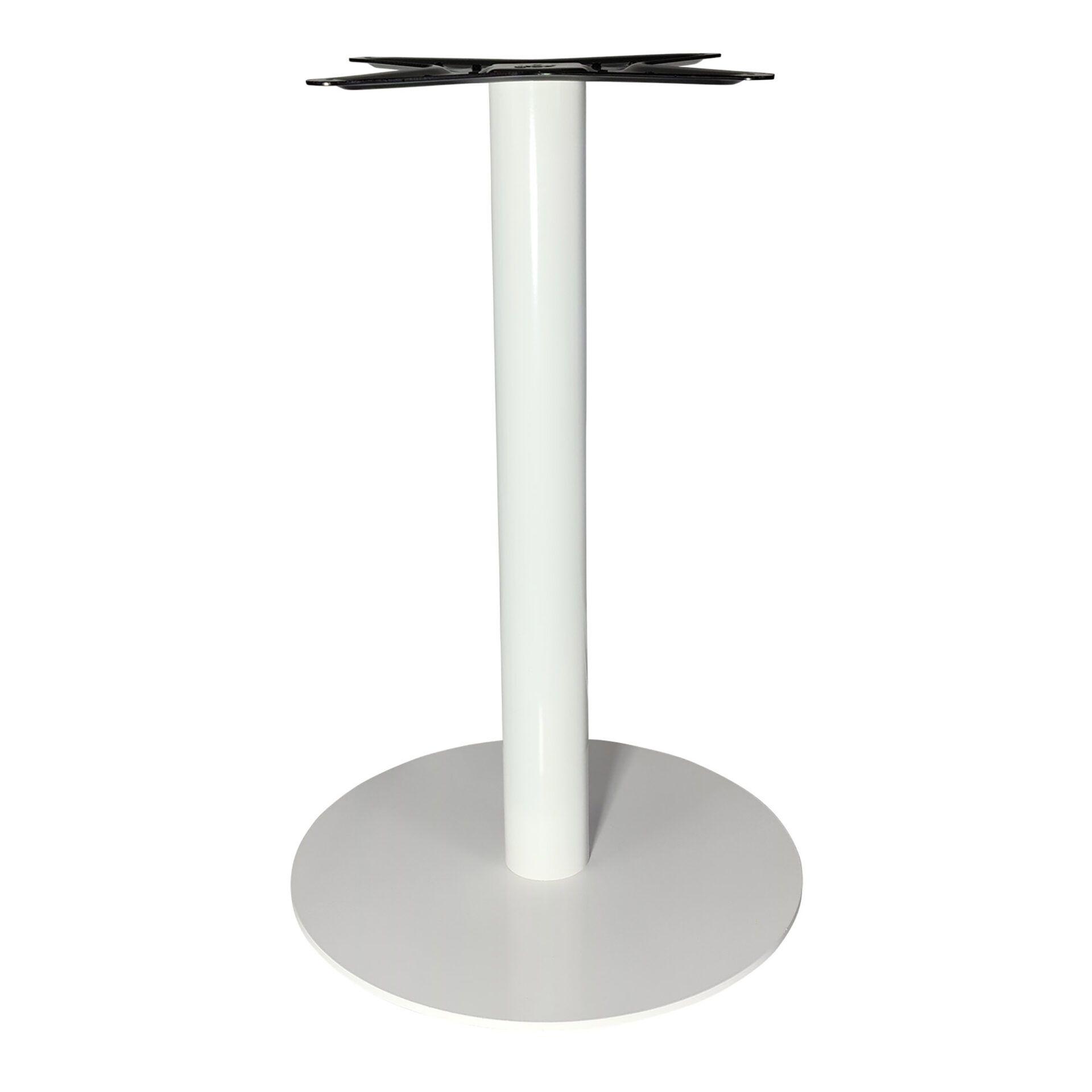 lyon table base white