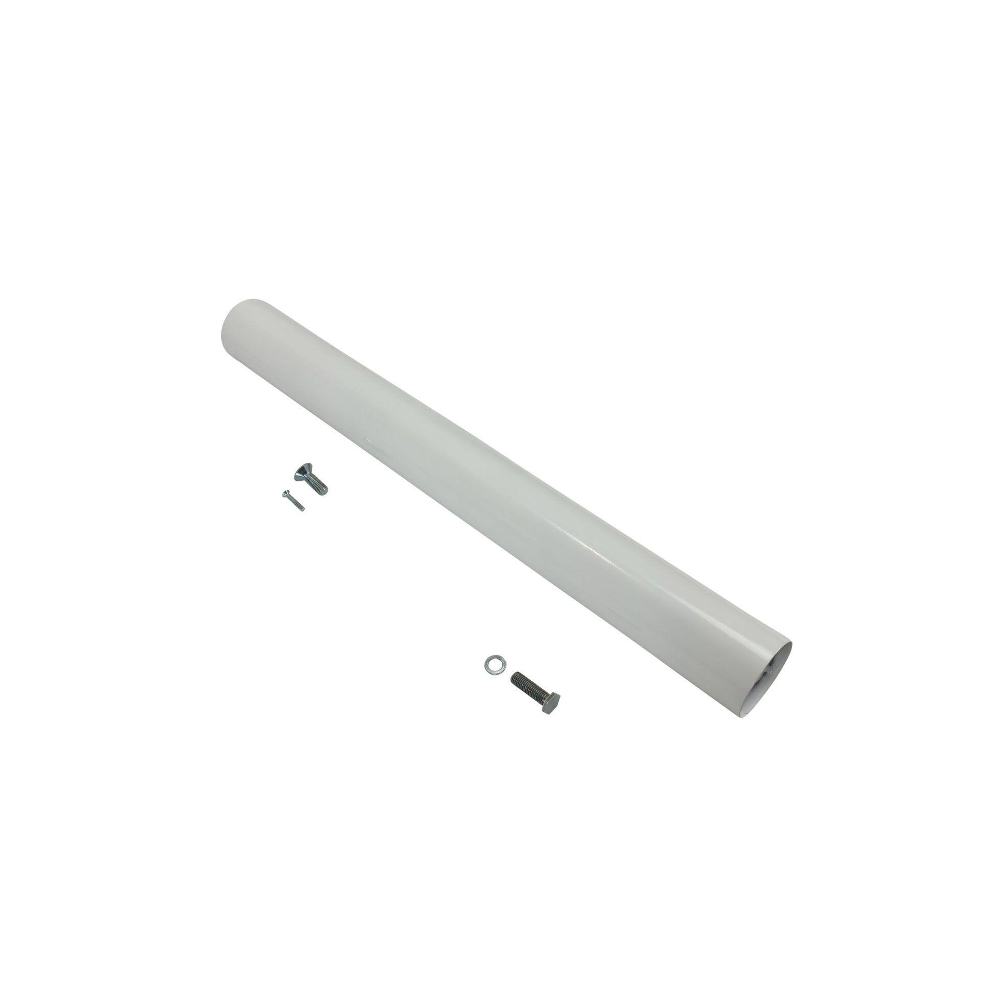 lyon table base white.pole .parts
