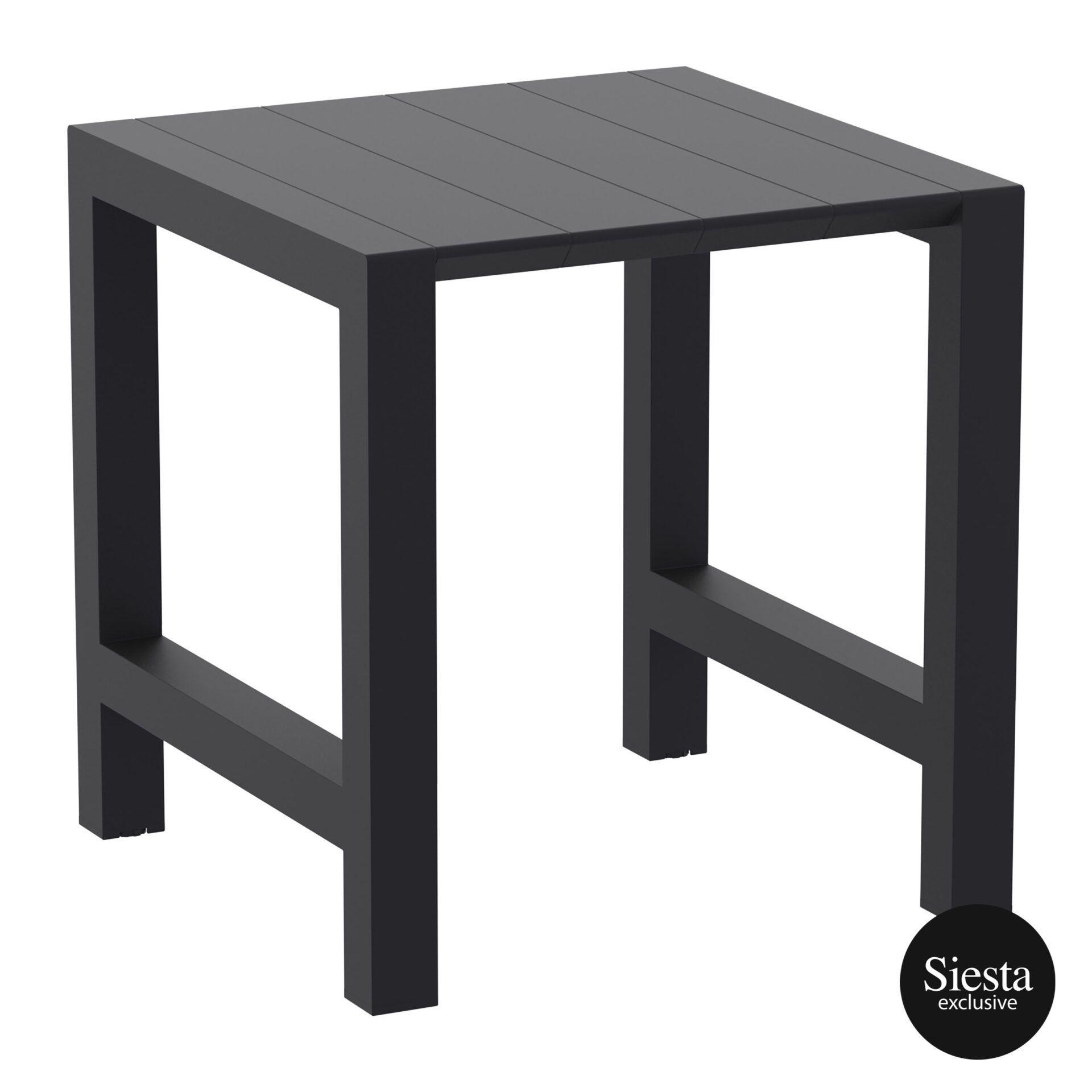002 vegas bar table 100 black front side