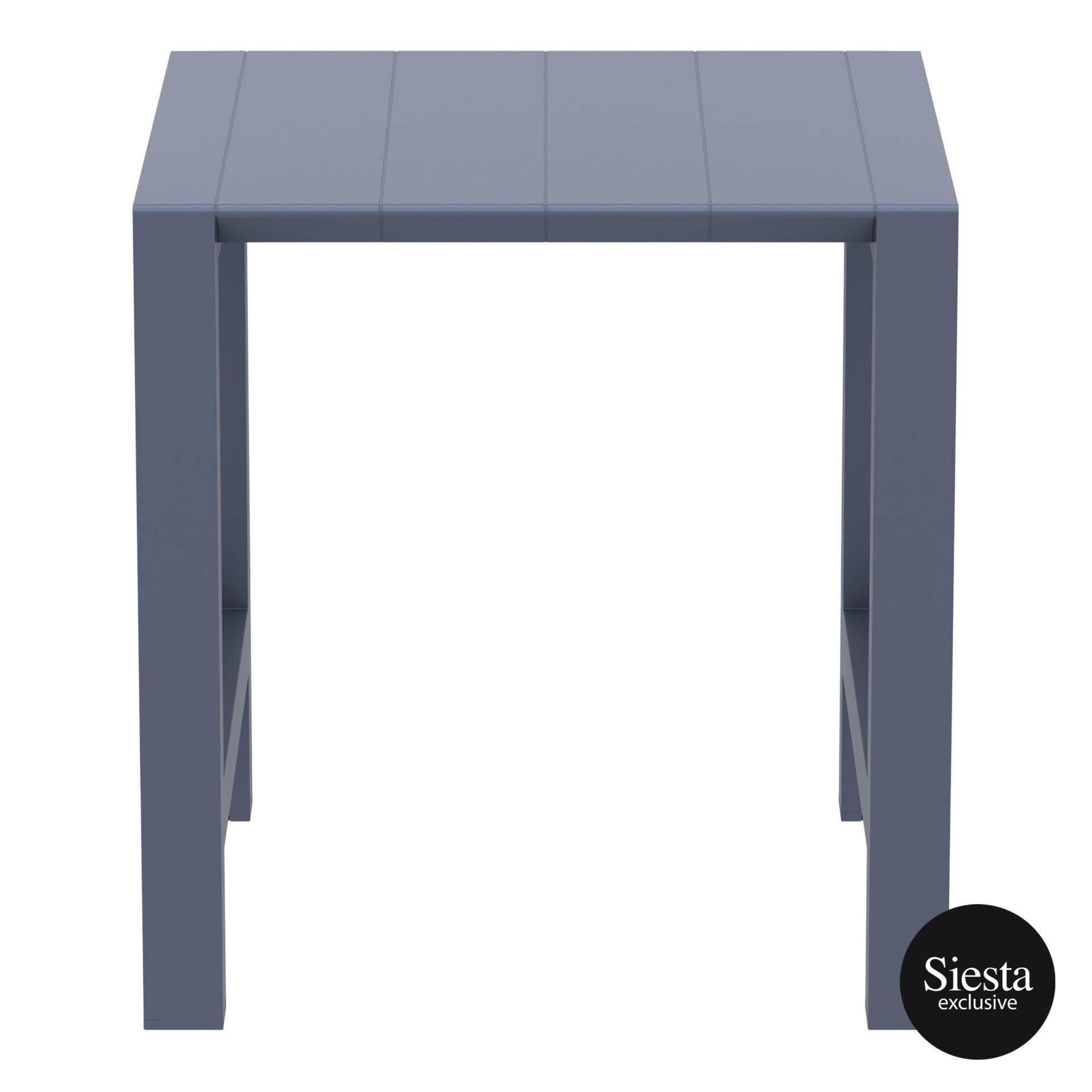 004 vegas bar table 100 darkgrey front