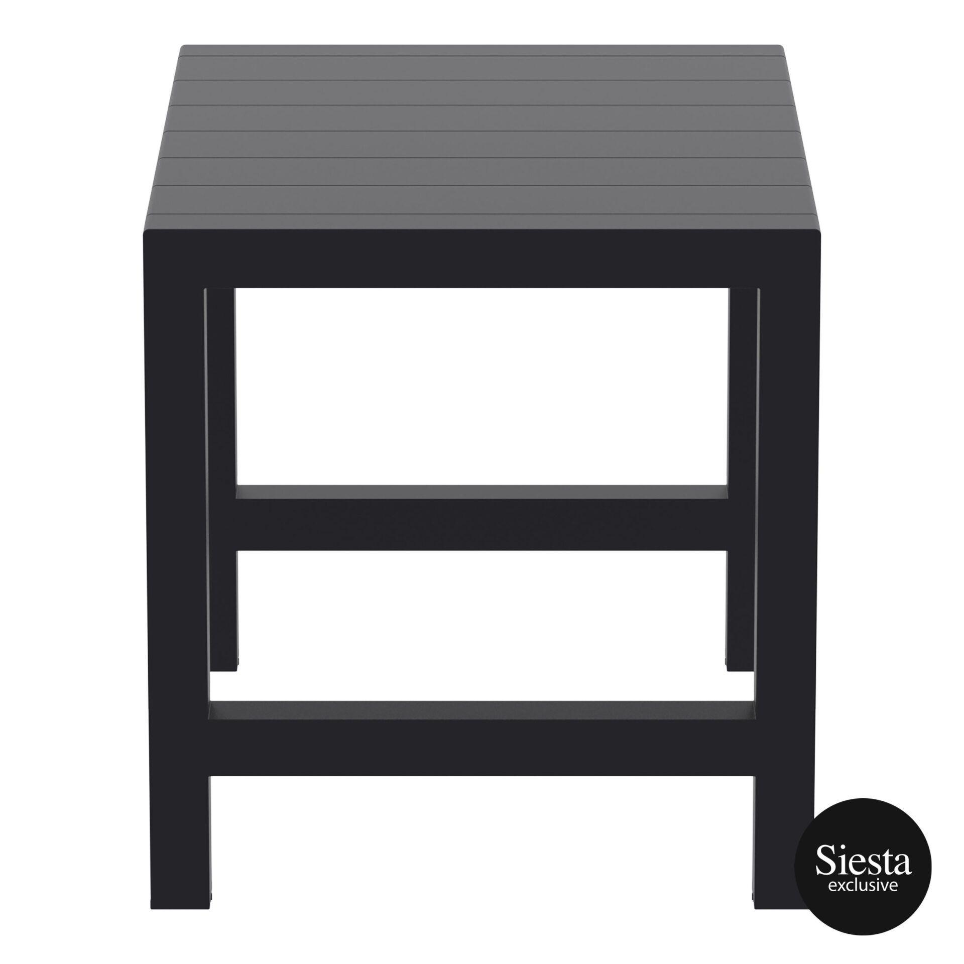 004 vegas bar table 140 black short edge