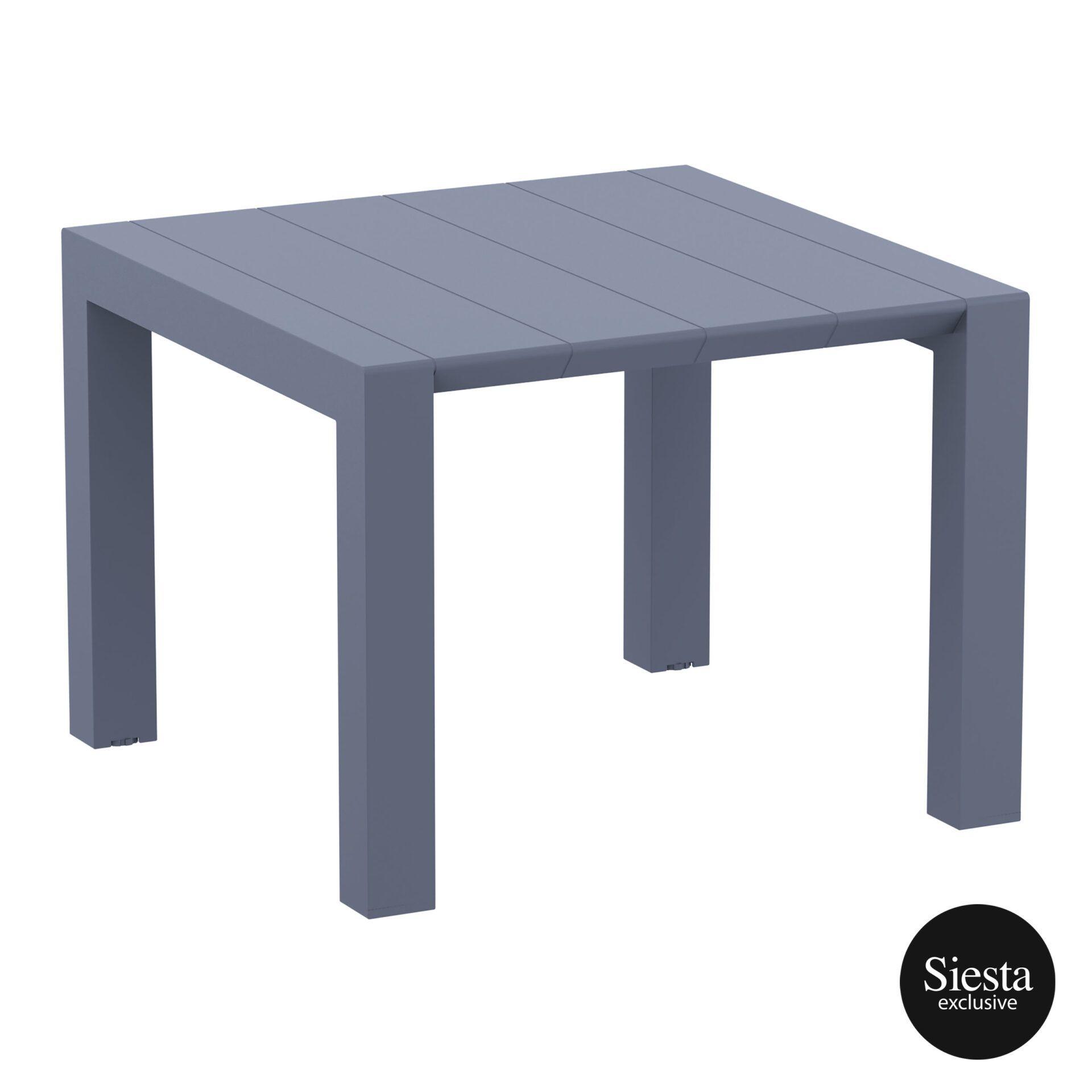 005 vegas table 100 darkgrey front side
