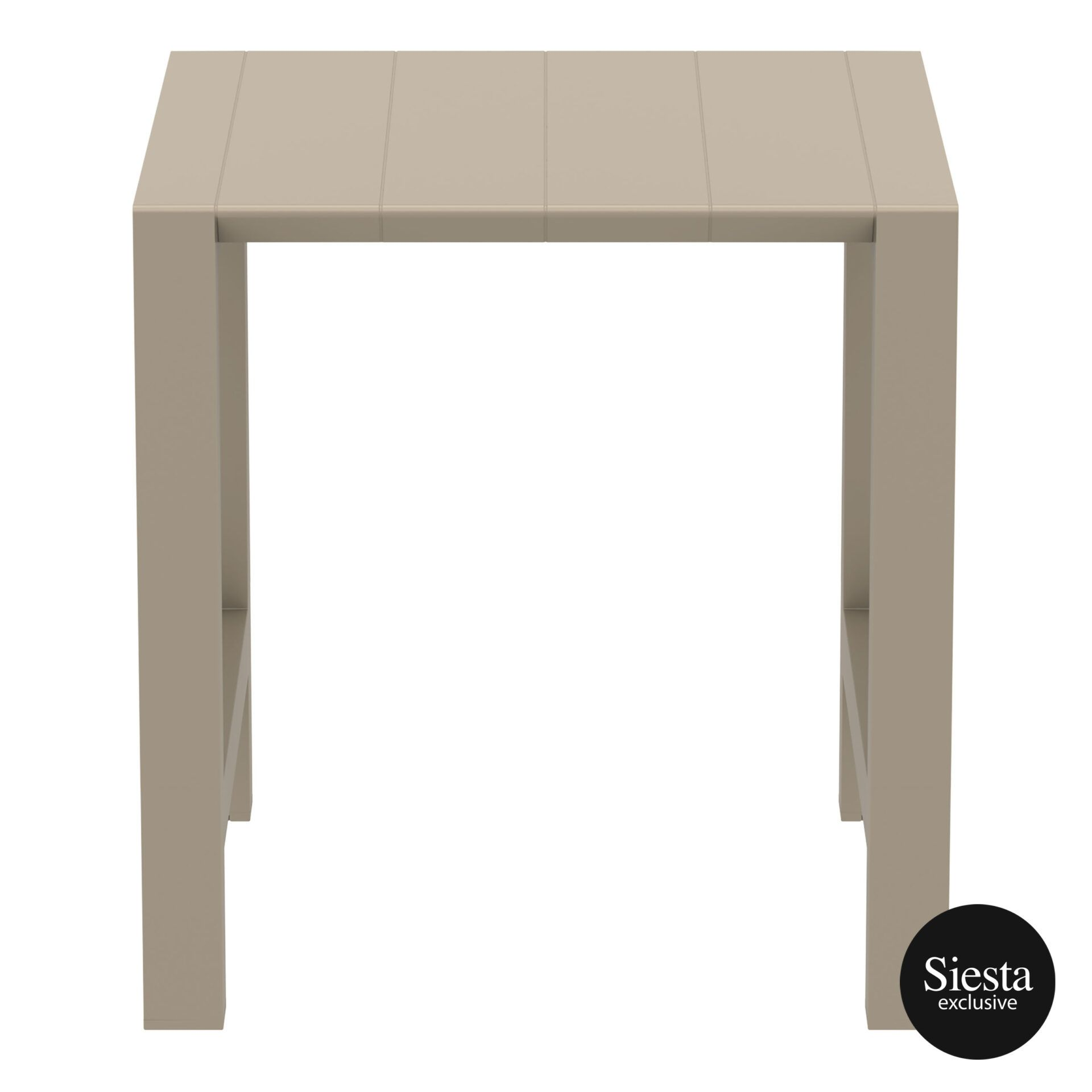 007 vegas bar table 100 taupe front